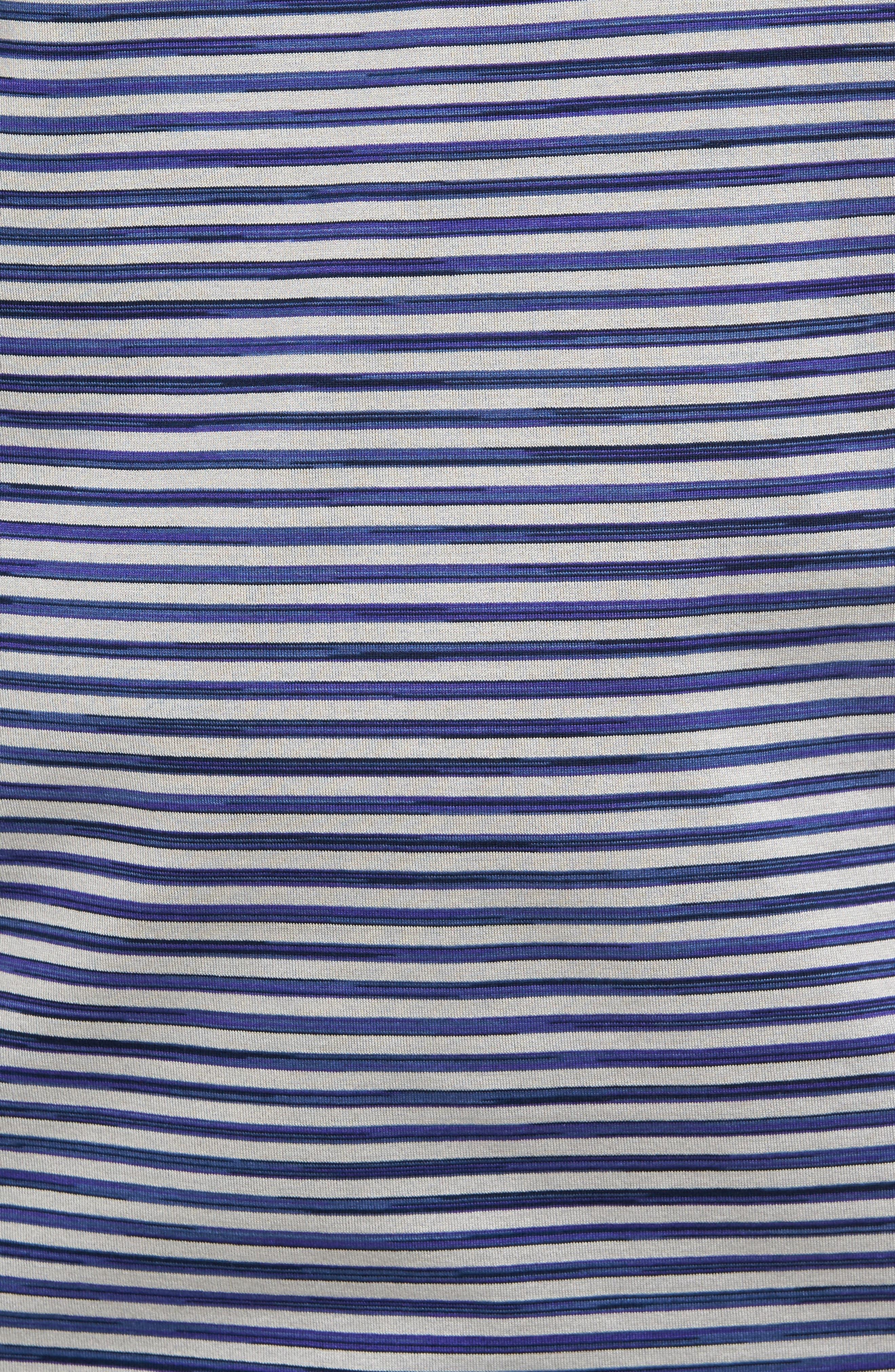 Stripe Jersey Polo,                             Alternate thumbnail 5, color,                             020