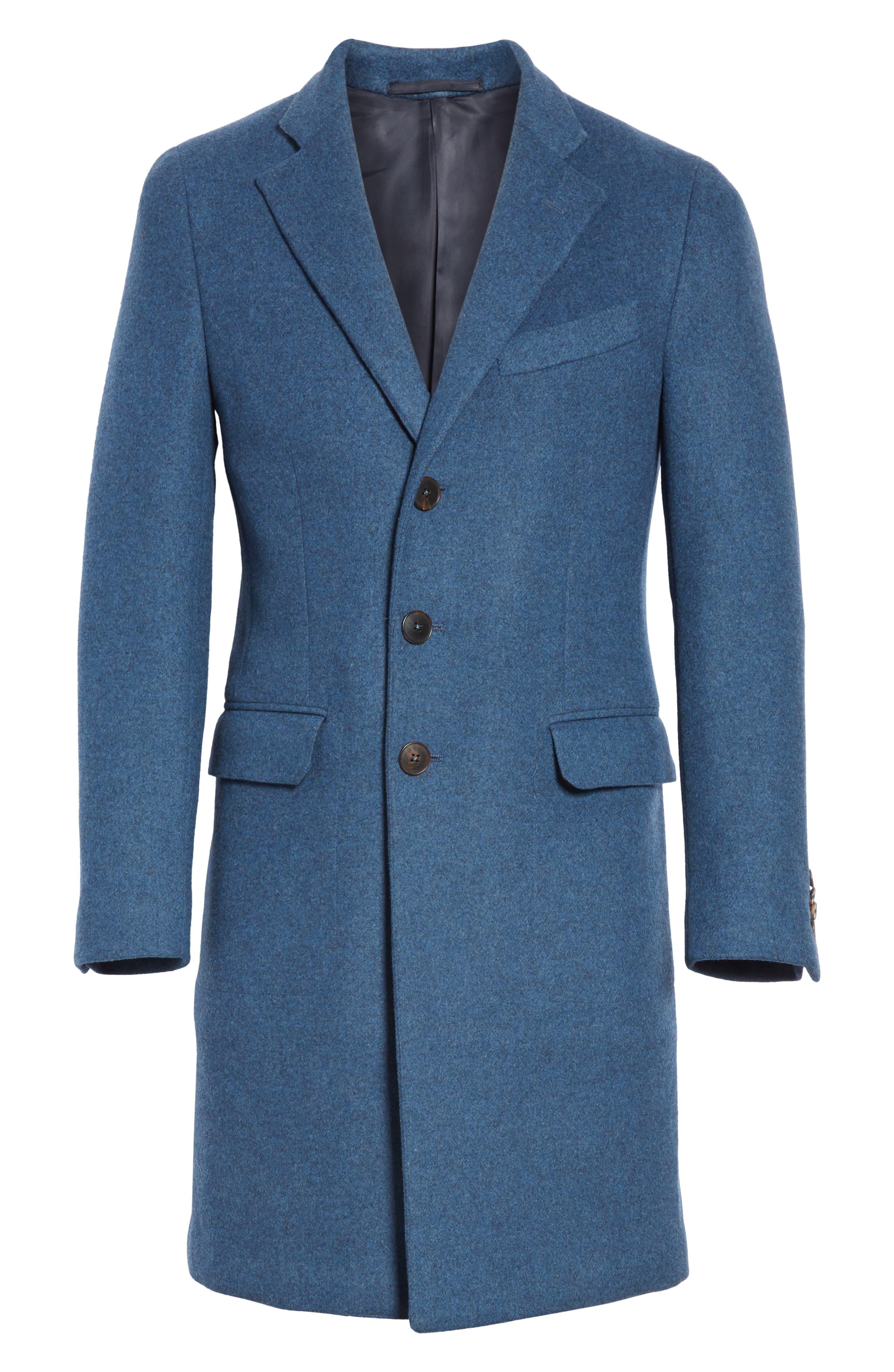 Wool & Cashmere Car Coat,                             Alternate thumbnail 5, color,                             423