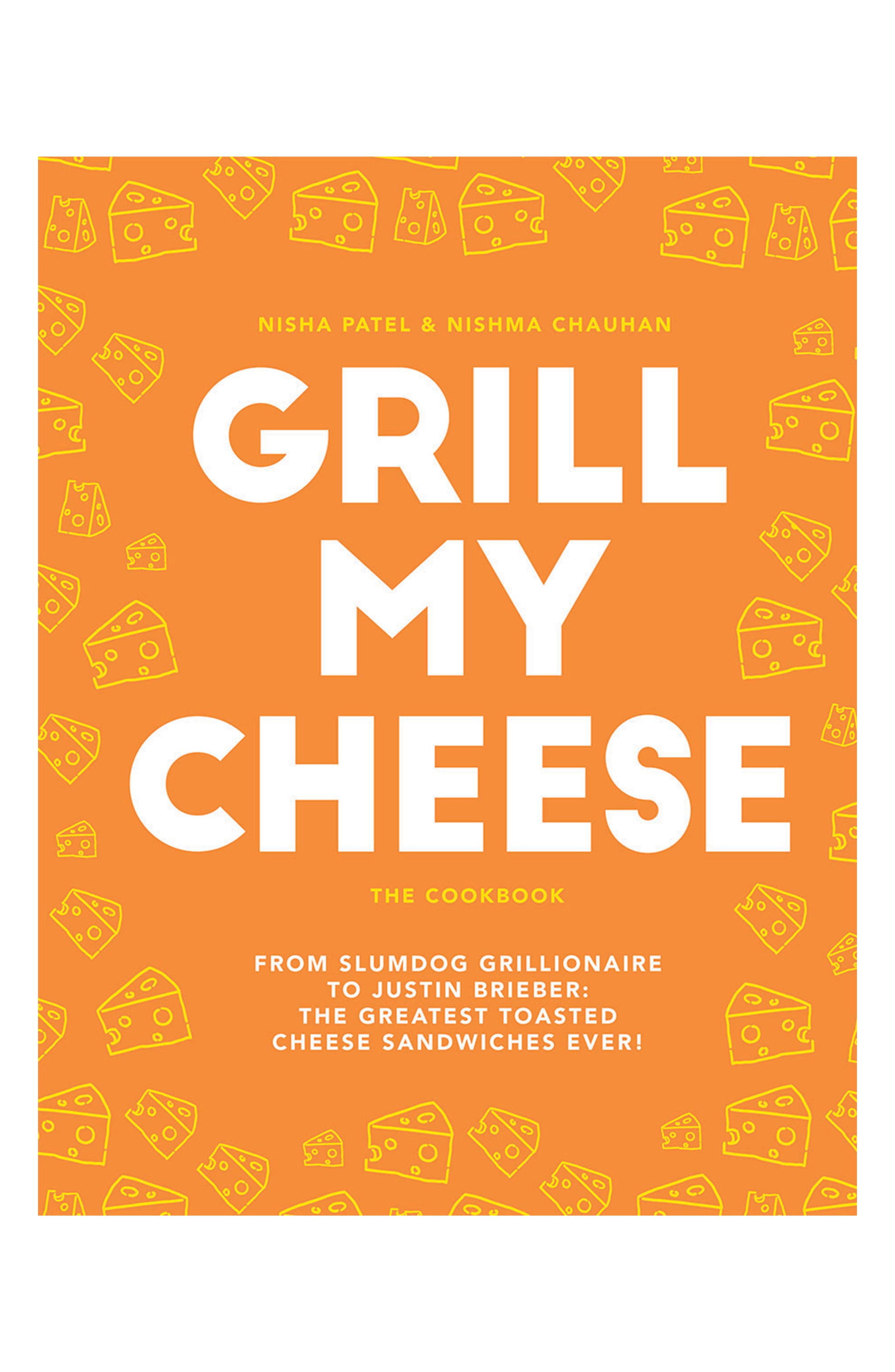 Grill My Cheese Cookbook,                             Main thumbnail 1, color,                             YELLOW