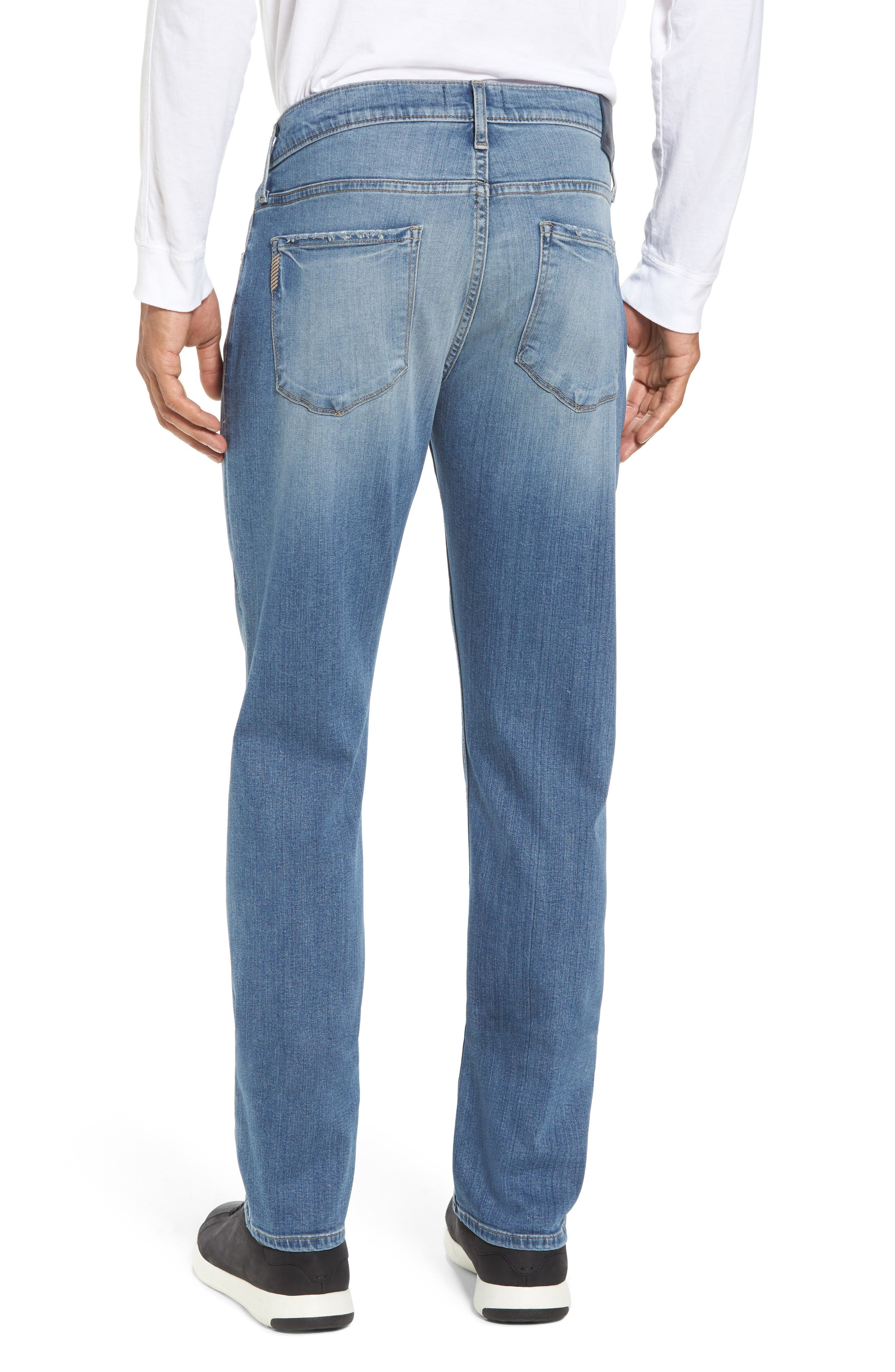 Transcend - Federal Slim Straight Fit Jeans,                             Alternate thumbnail 2, color,                             400