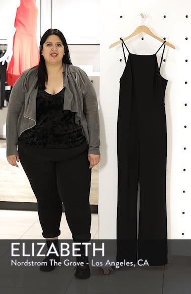 Whisper Halter Neck Jumpsuit, sales video thumbnail
