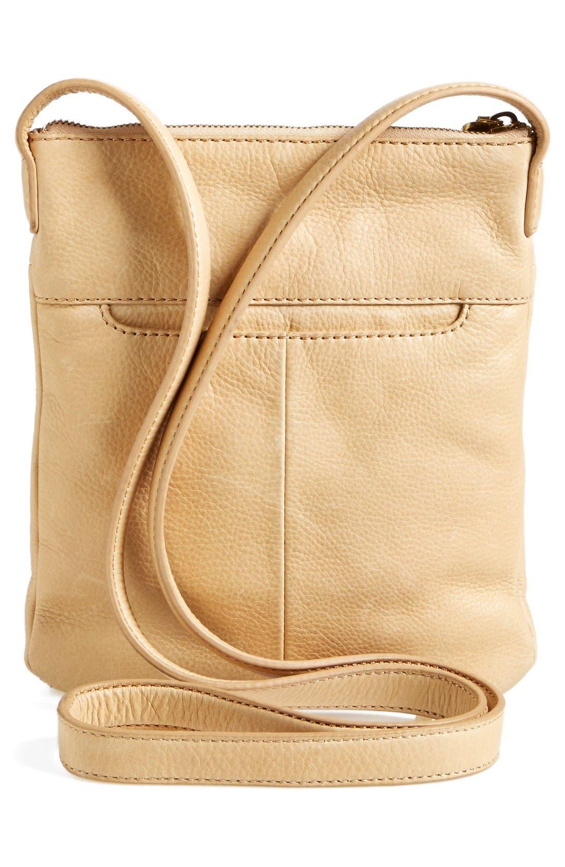 'Sarah' Leather Crossbody Bag,                             Alternate thumbnail 10, color,