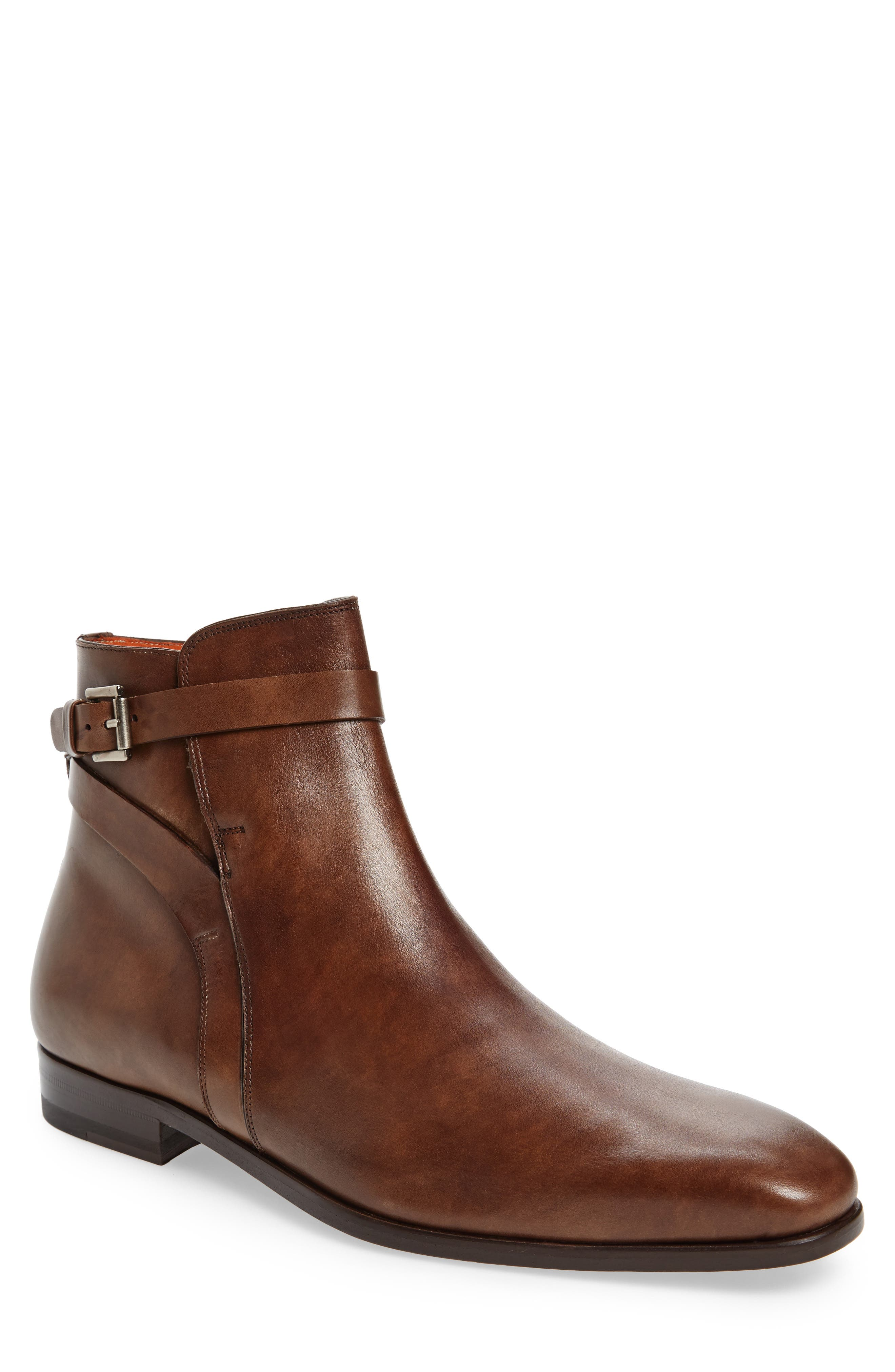 Viso Zip Boot,                             Main thumbnail 1, color,                             TAUPE LEATHER