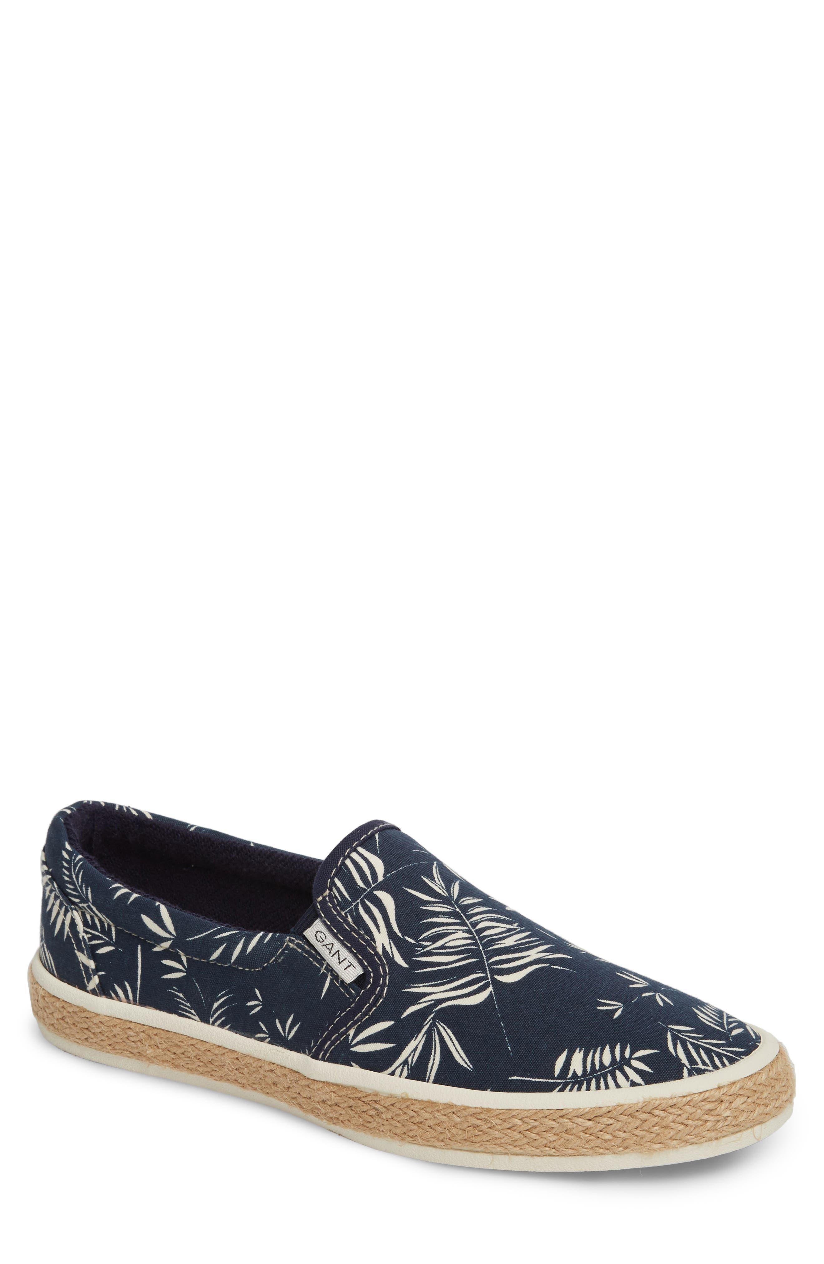 Master Espadrille Slip-On Sneaker,                         Main,                         color, MULTI BLUE