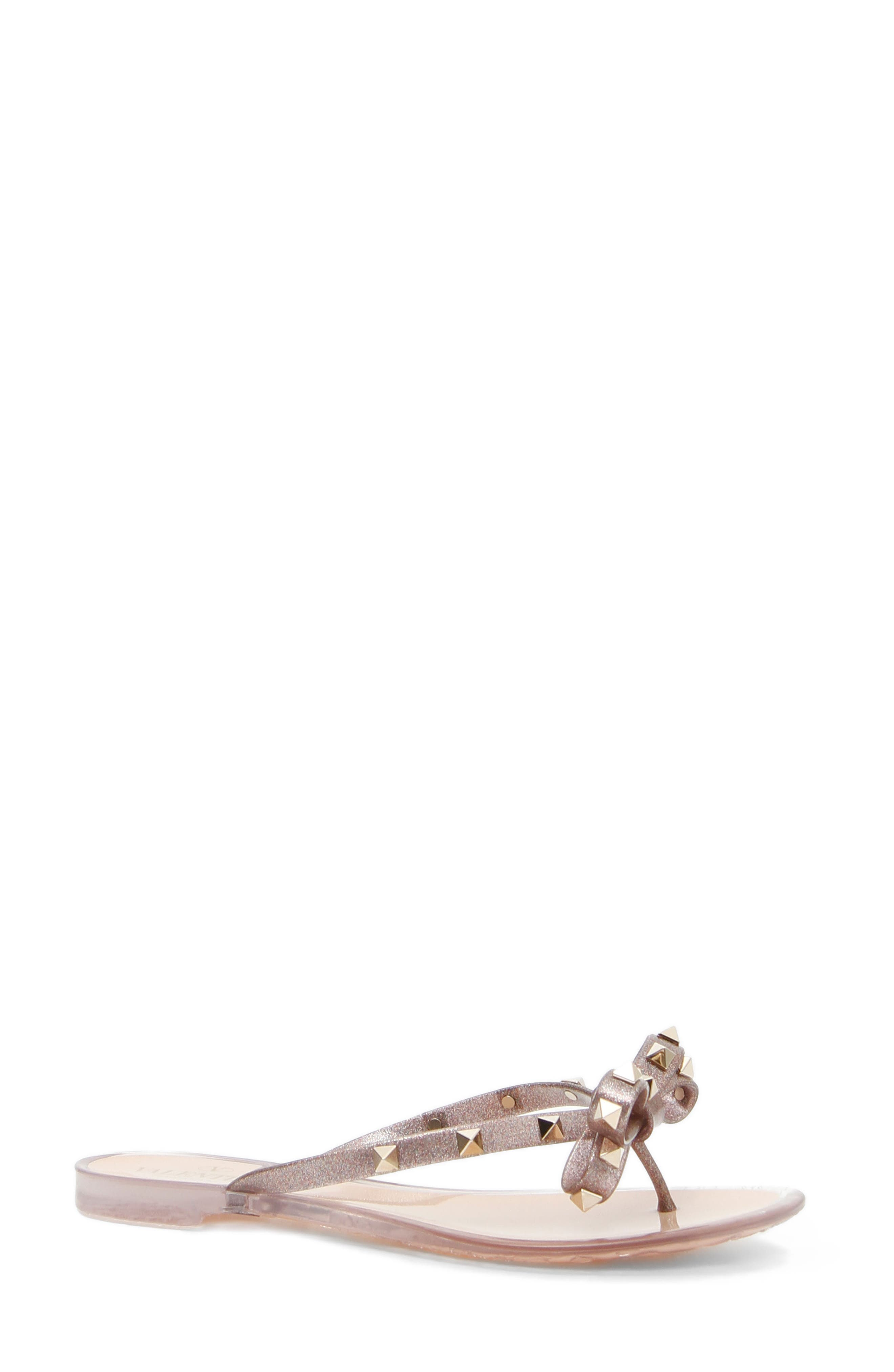 'Rockstud' Flip Flop,                         Main,                         color, MULTICOLOR