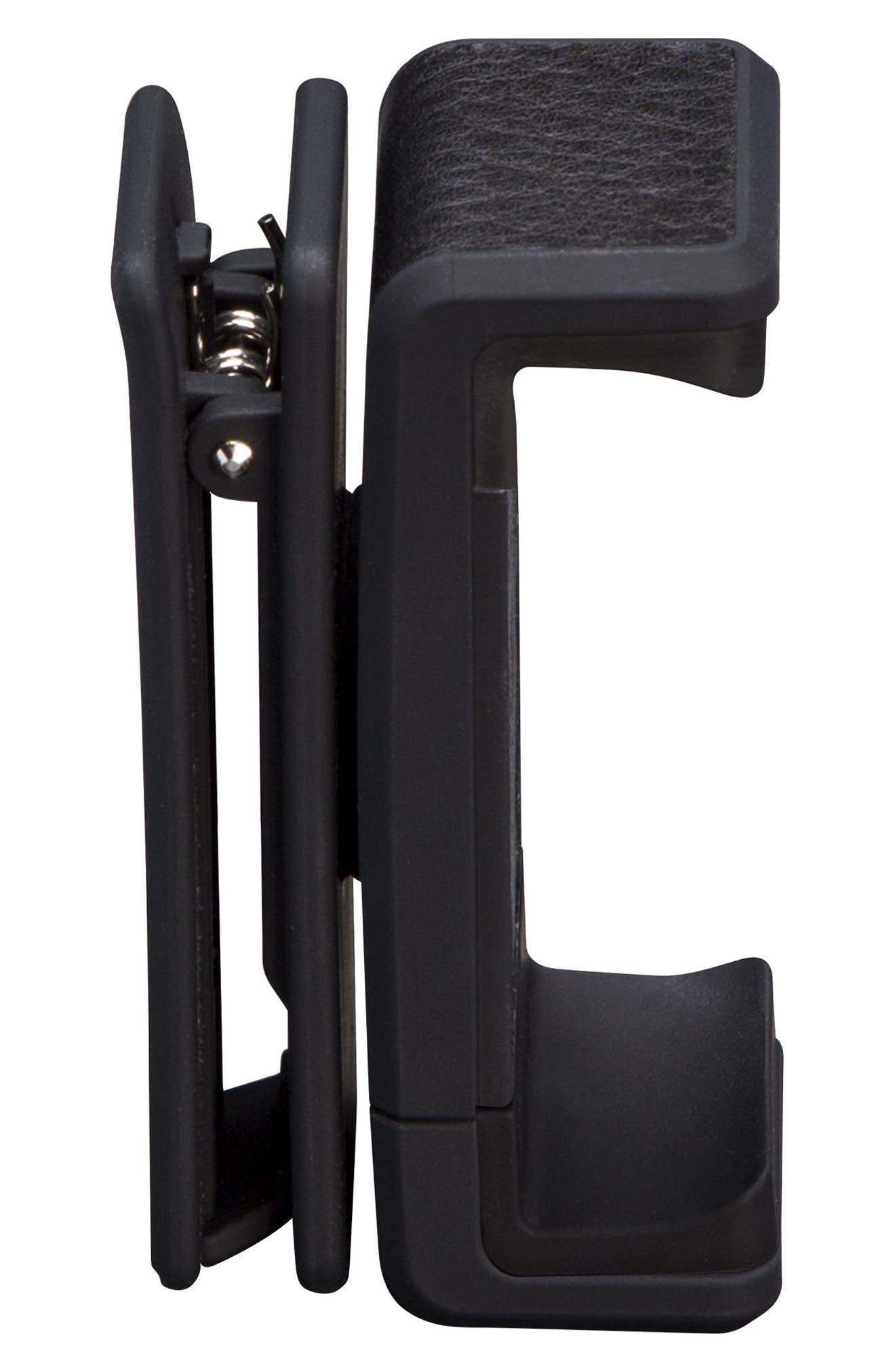 Universal Smartphone Beltclip,                             Alternate thumbnail 2, color,                             BLACK