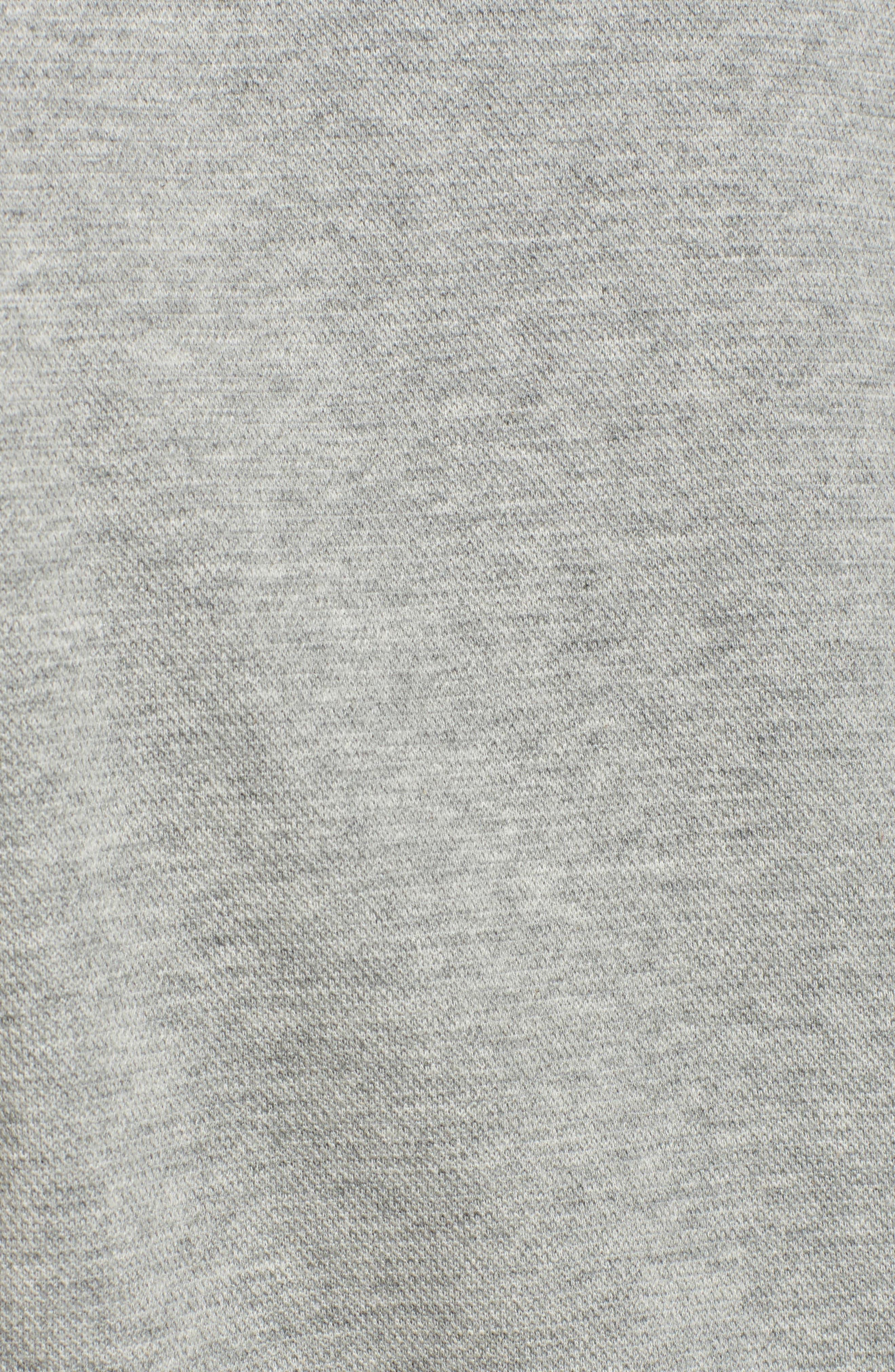 Bell Sleeve Ribbed Sweatshirt,                             Alternate thumbnail 5, color,                             089