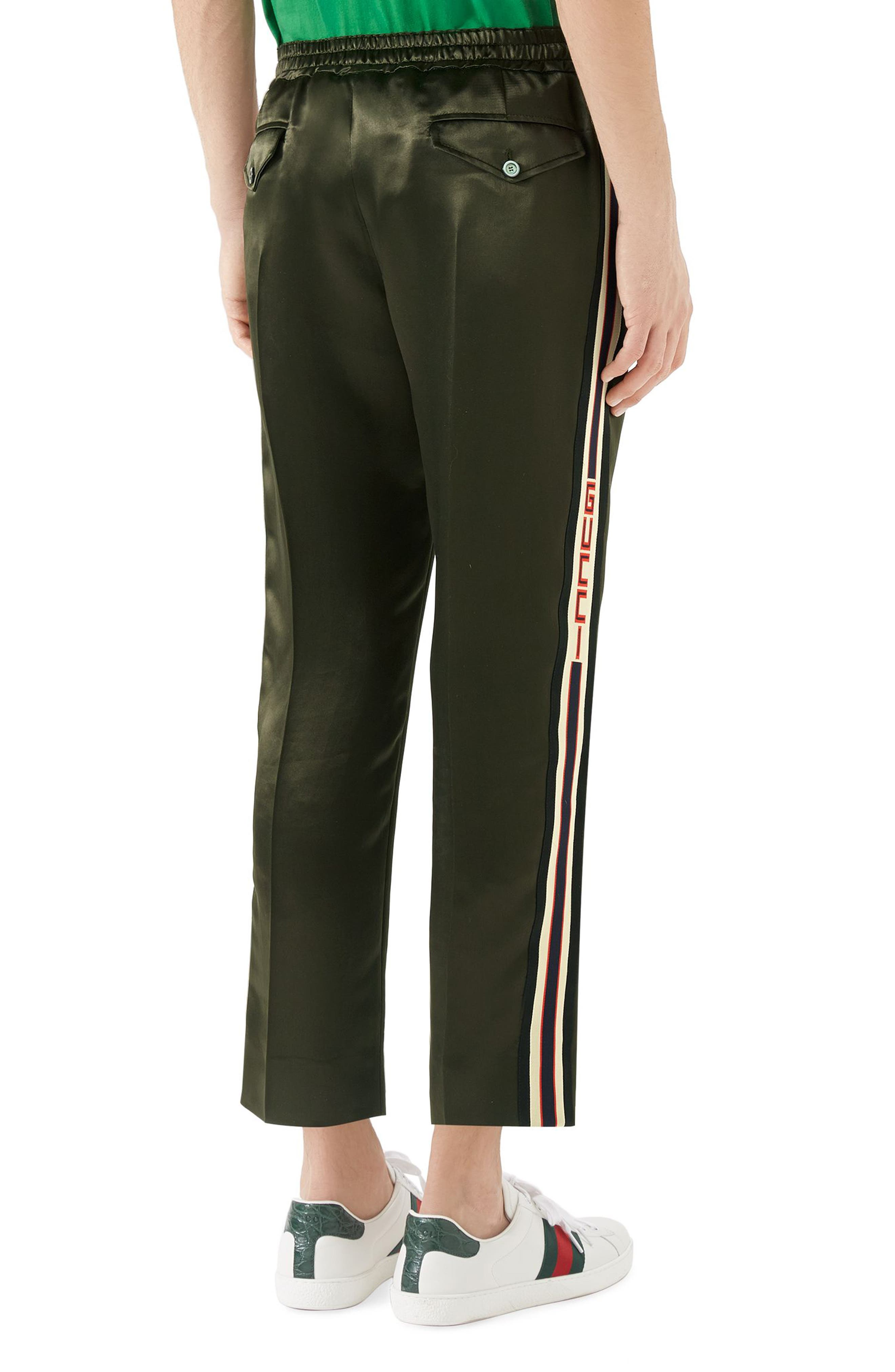Track Pants,                             Alternate thumbnail 2, color,                             GREEN