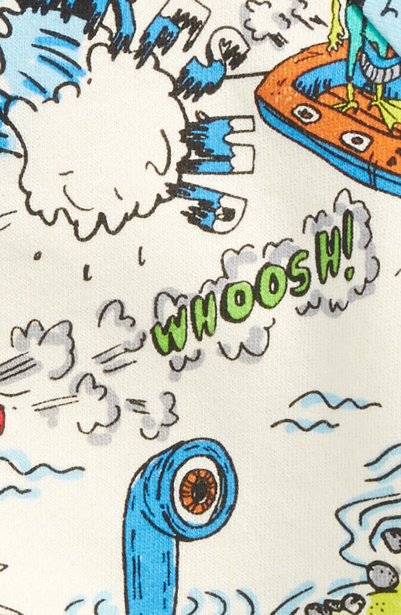 Billy Cartoon Print Sweatshirt,                             Alternate thumbnail 2, color,