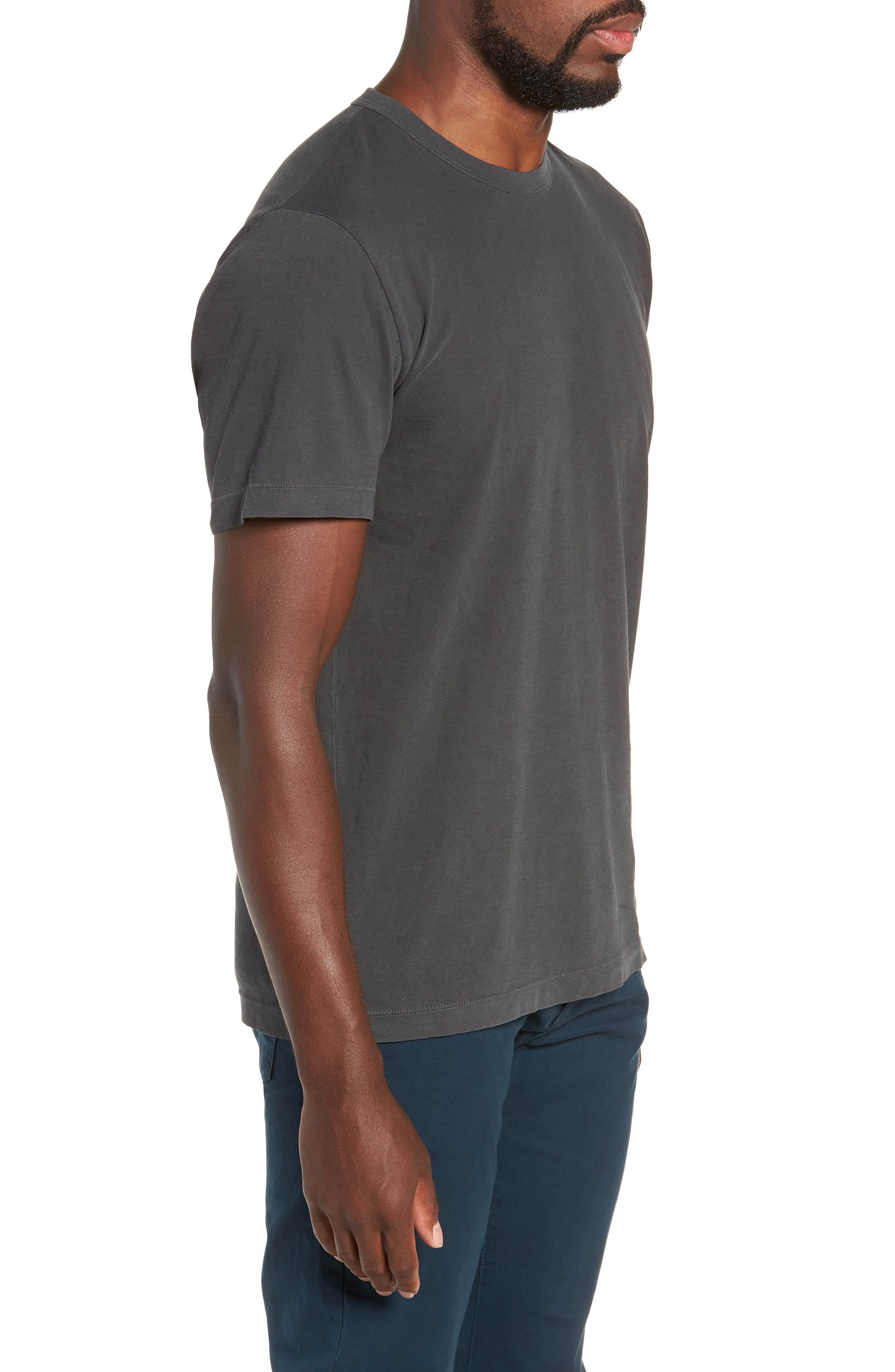Combed Cotton Graphic T-Shirt,                             Alternate thumbnail 3, color,                             020