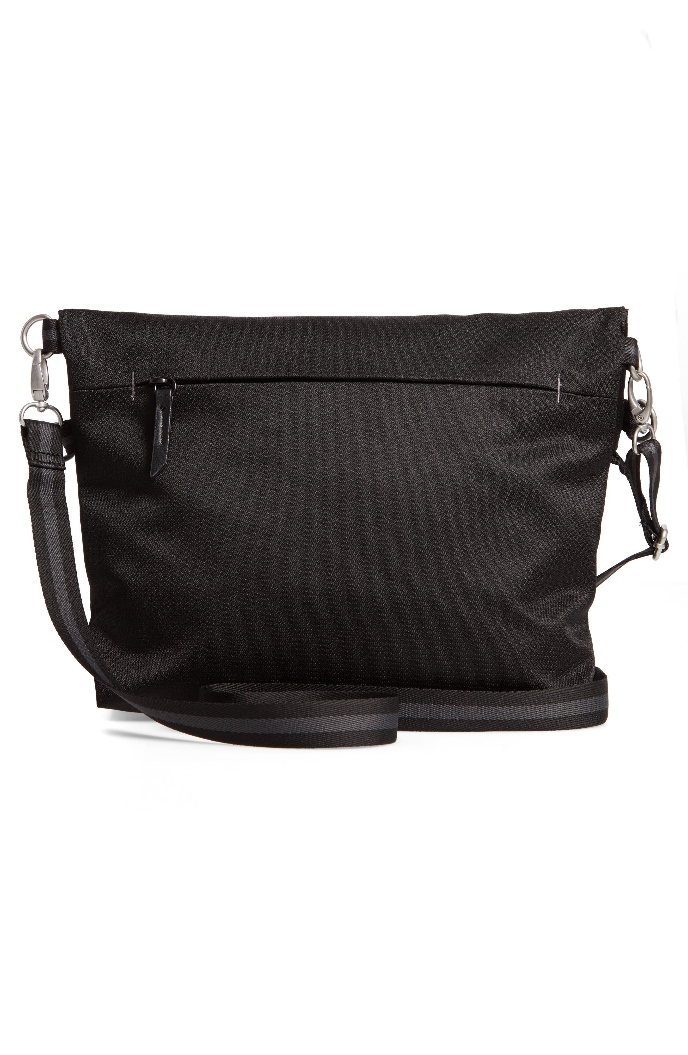 Vale RFID Crossbody Bag,                             Alternate thumbnail 4, color,                             BLACK/ BLACK