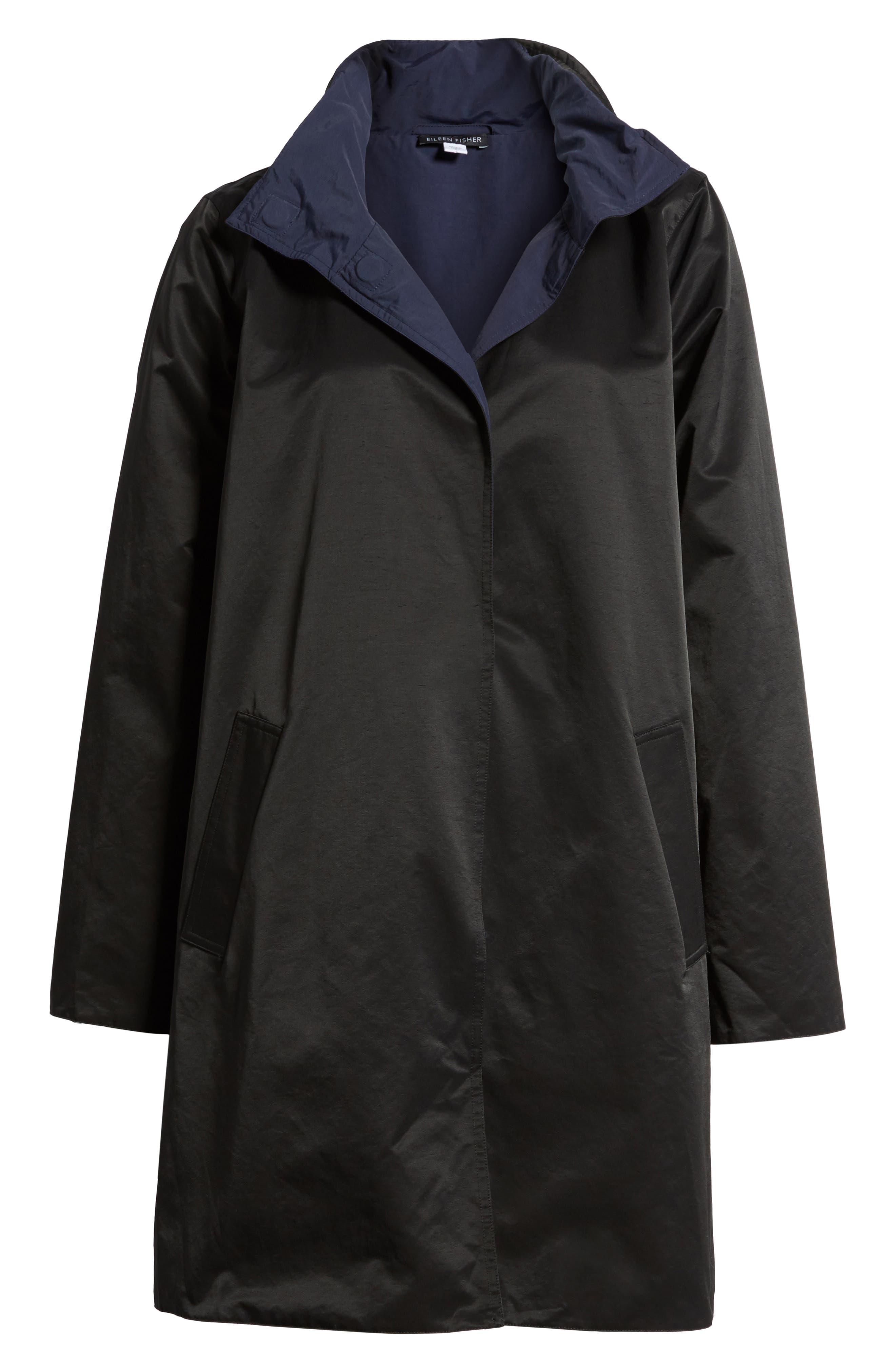 Reversible A-Line Coat,                             Alternate thumbnail 5, color,                             006
