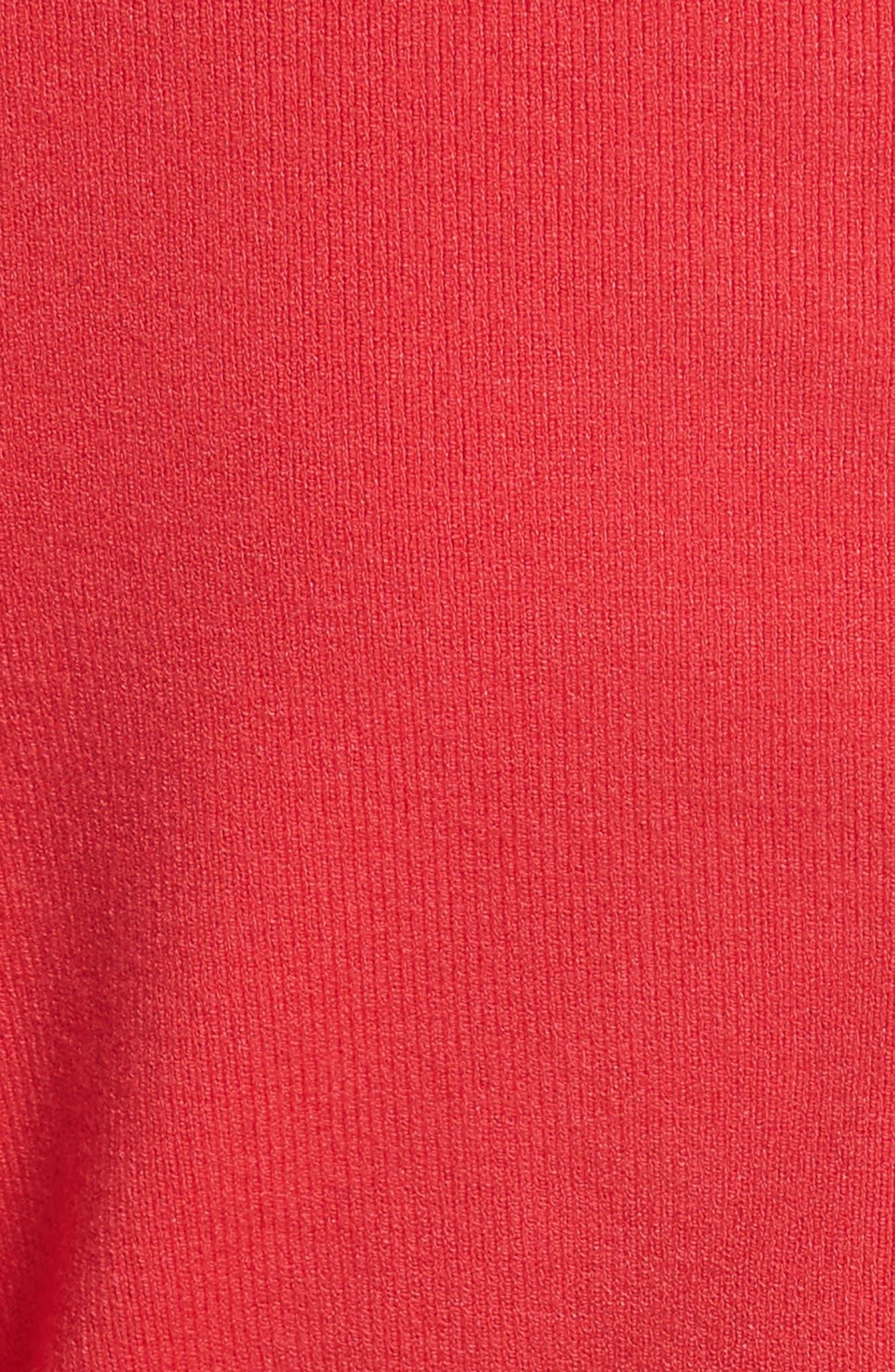 Square Neck Sheath Dress,                             Alternate thumbnail 5, color,