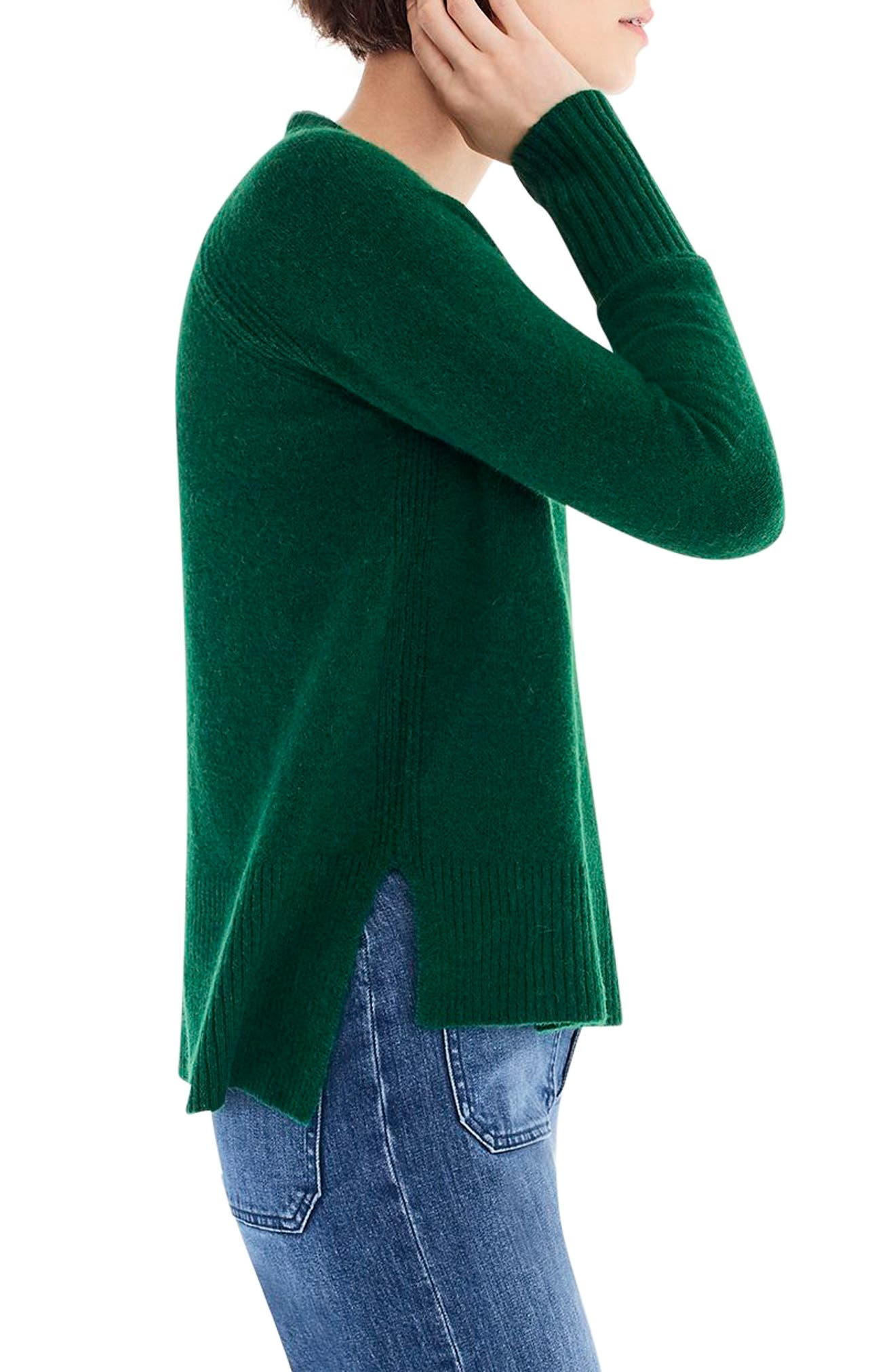 Supersoft Yarn V-Neck Sweater,                             Alternate thumbnail 18, color,