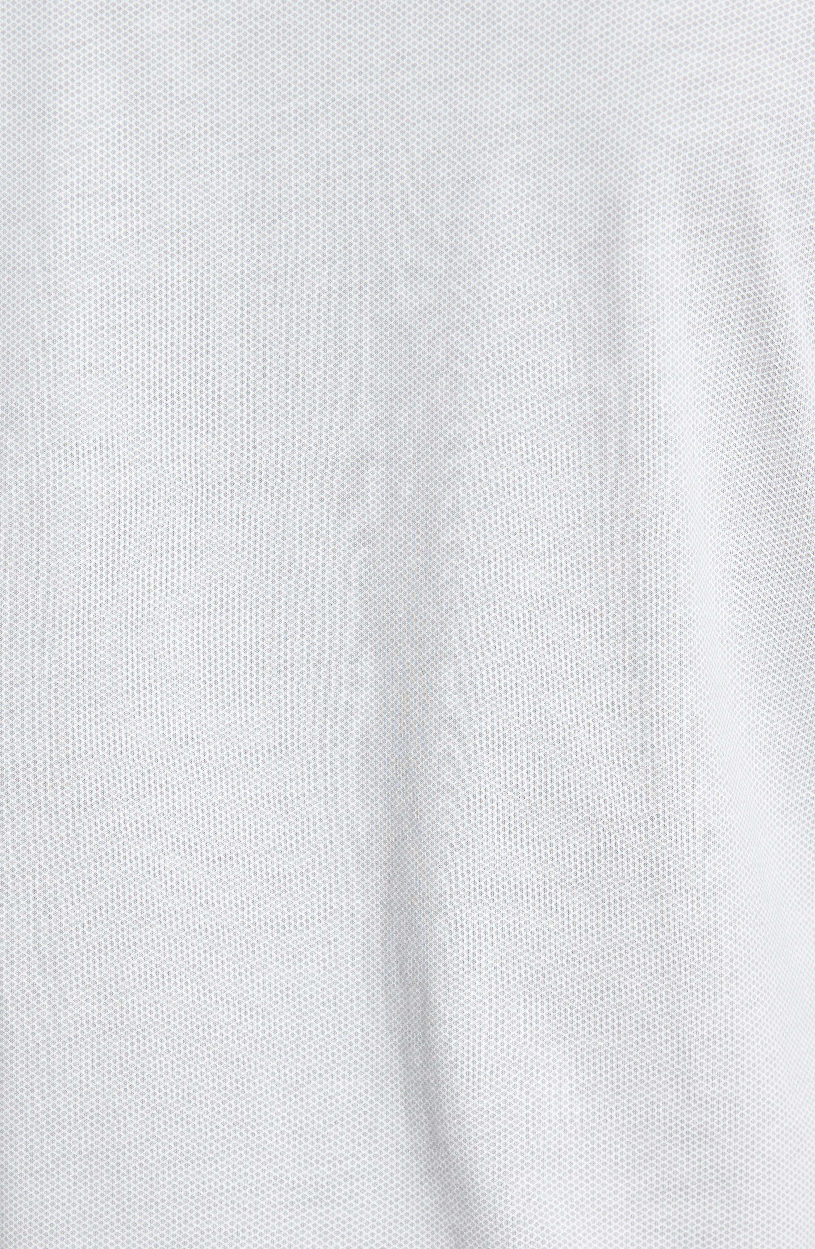 Reid Slim Fit Solid Sport Shirt,                             Alternate thumbnail 5, color,                             071