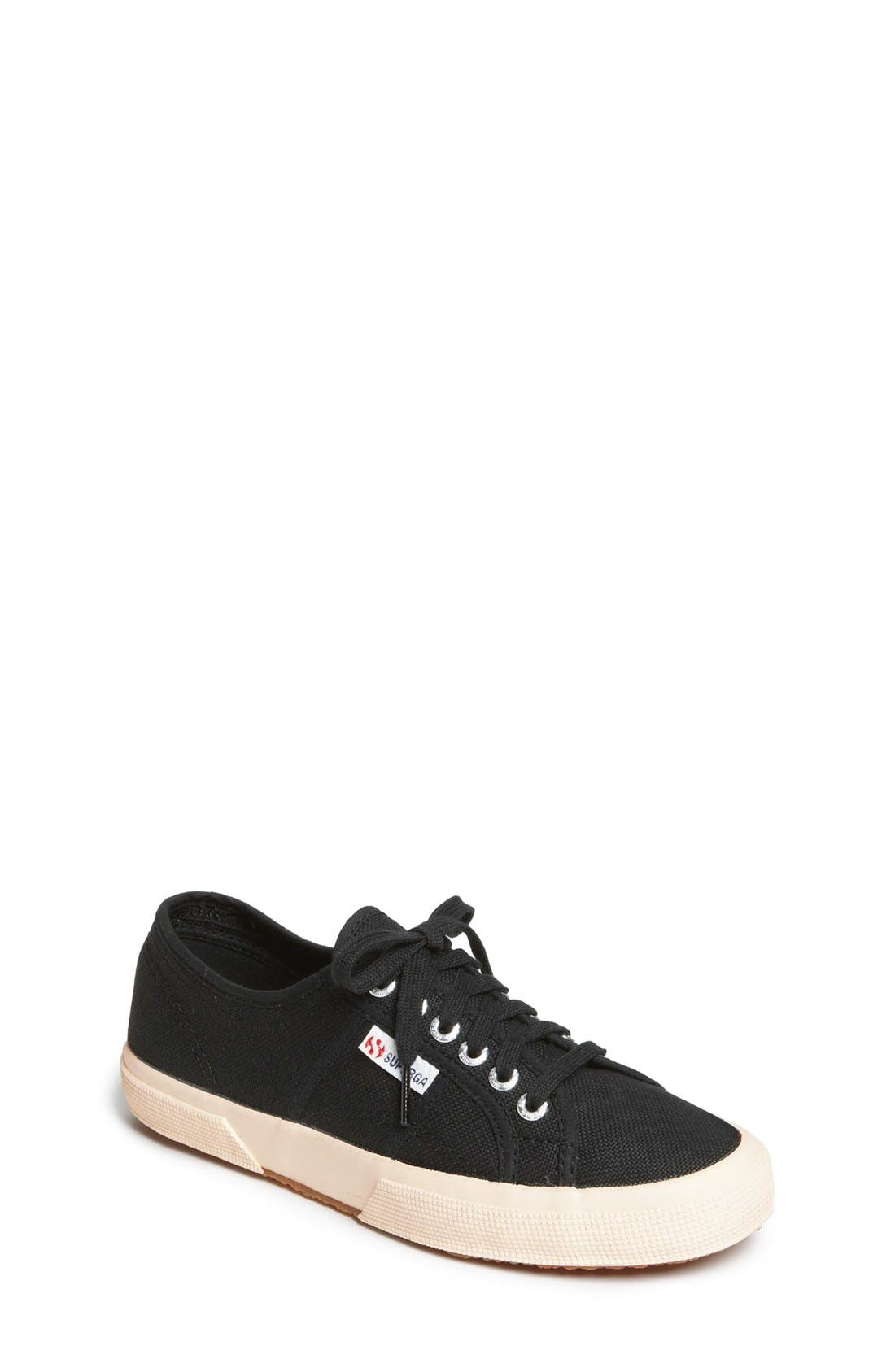 'Cotu' Sneaker,                         Main,                         color, BLACK CANVAS