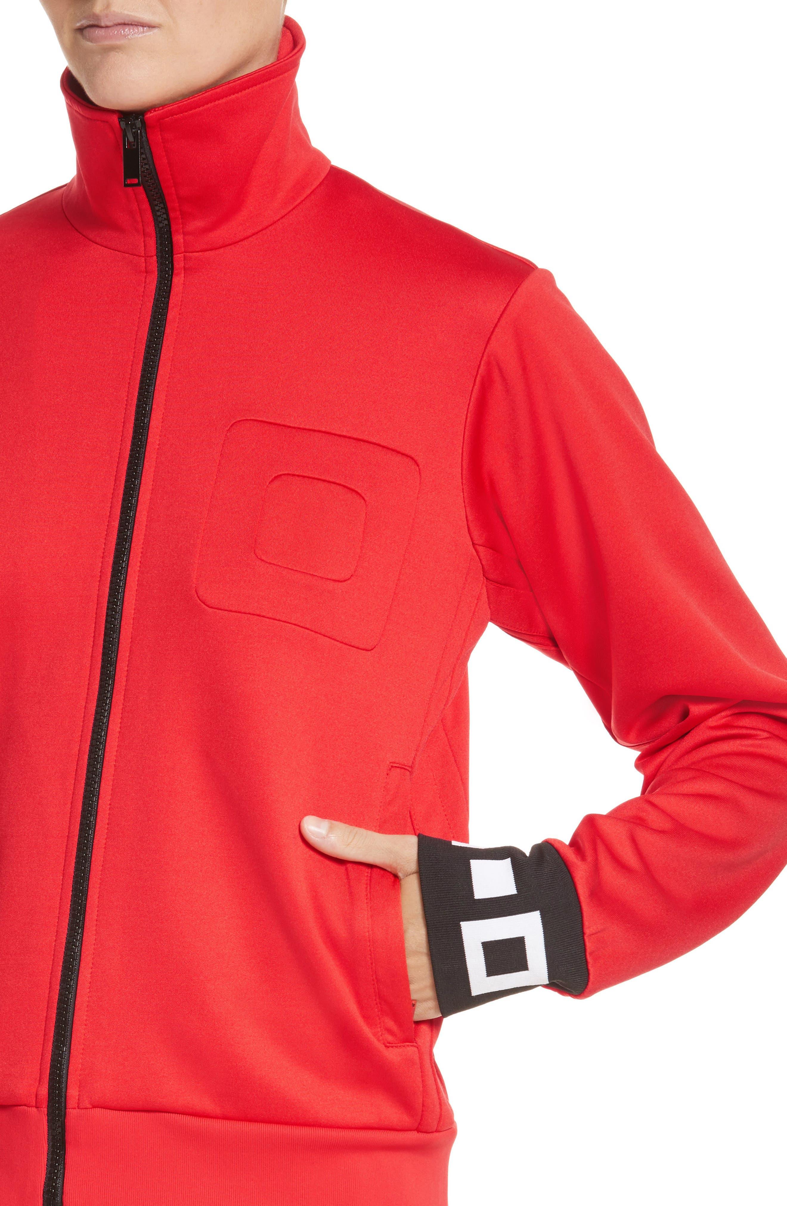PSWL Jersey Track Jacket,                             Alternate thumbnail 8, color,