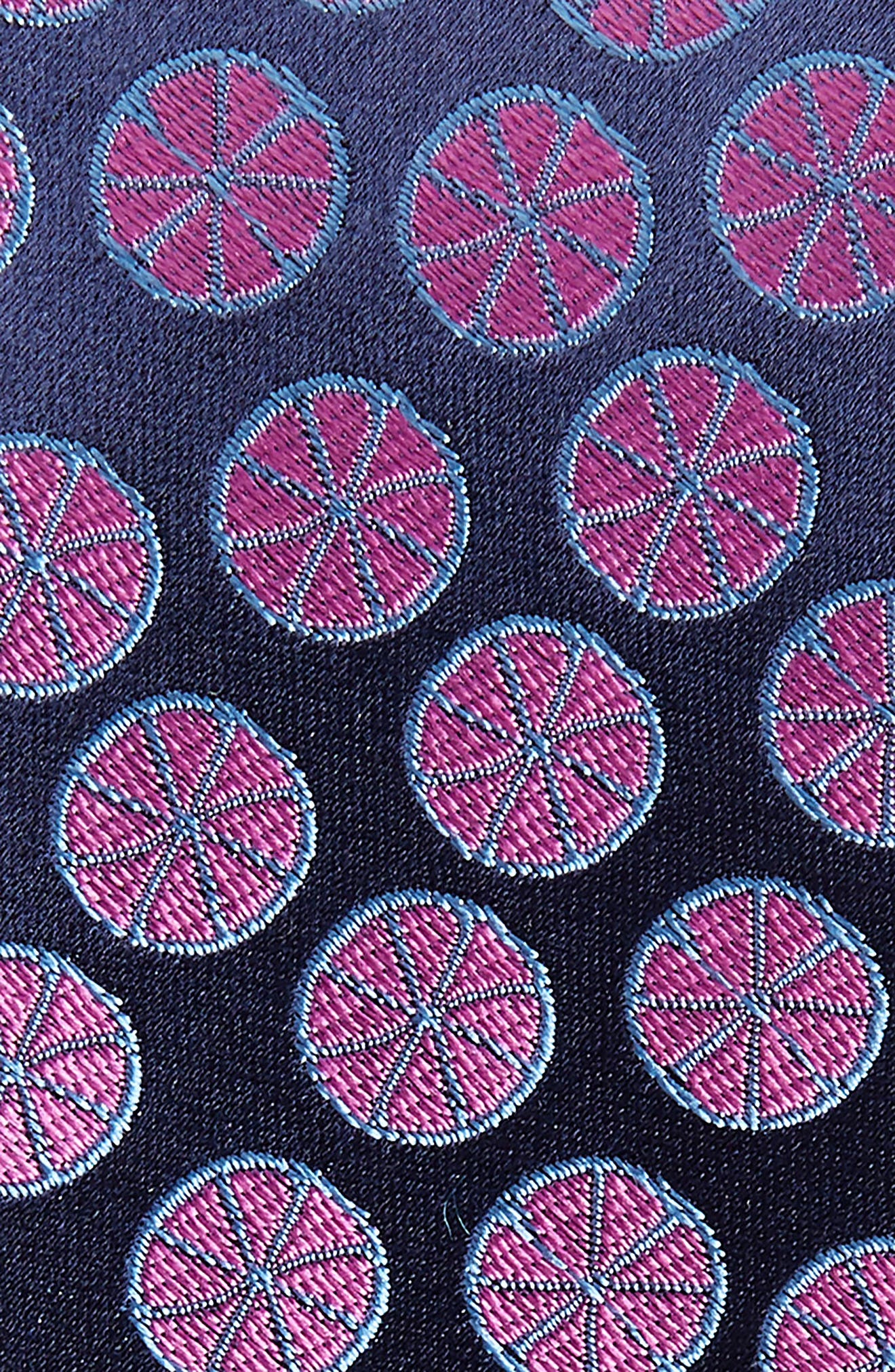 Summer Slices Medallion Silk Tie,                             Alternate thumbnail 2, color,                             410