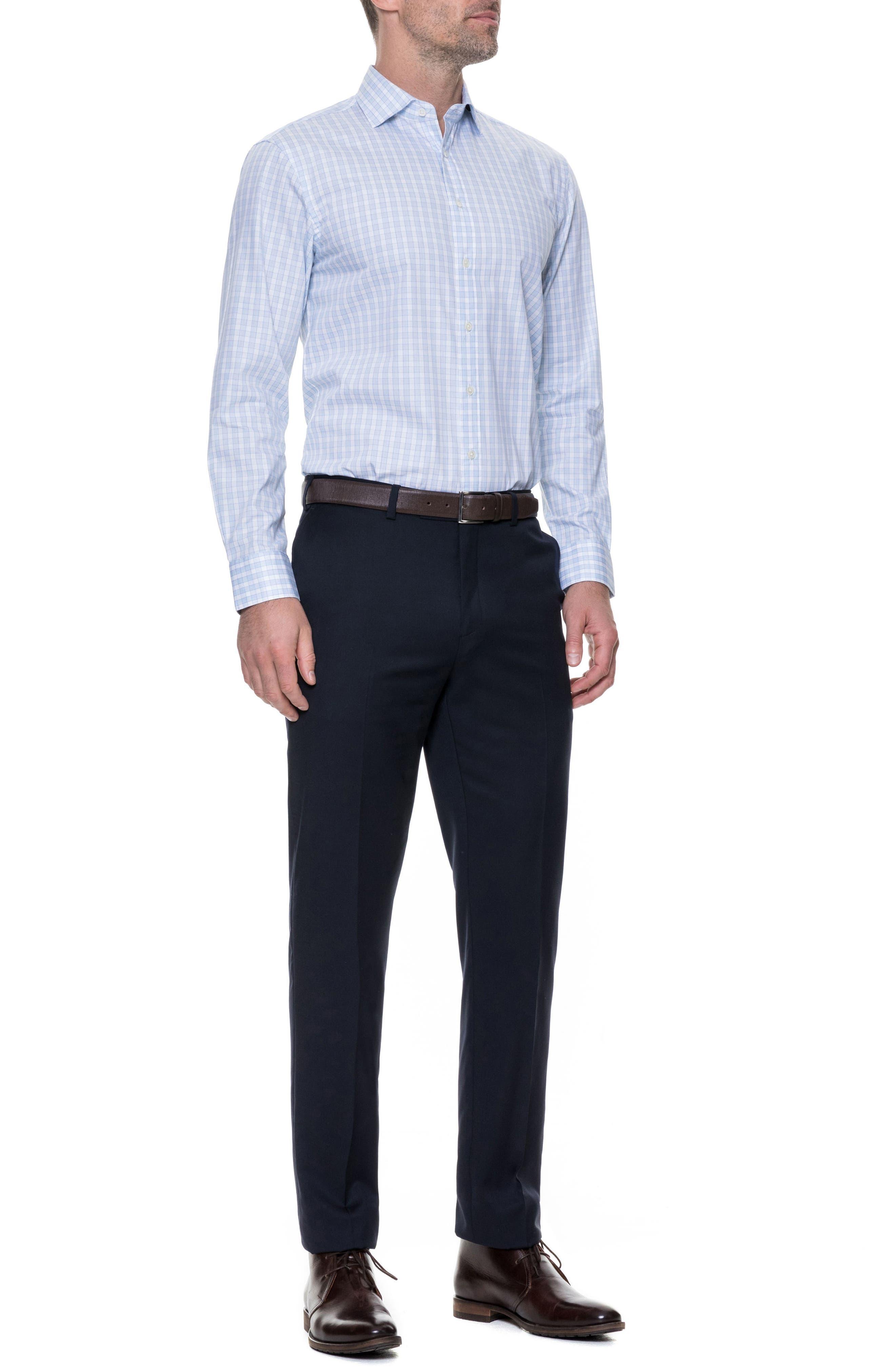 Brackley Slim Fit Sport Shirt,                             Alternate thumbnail 5, color,