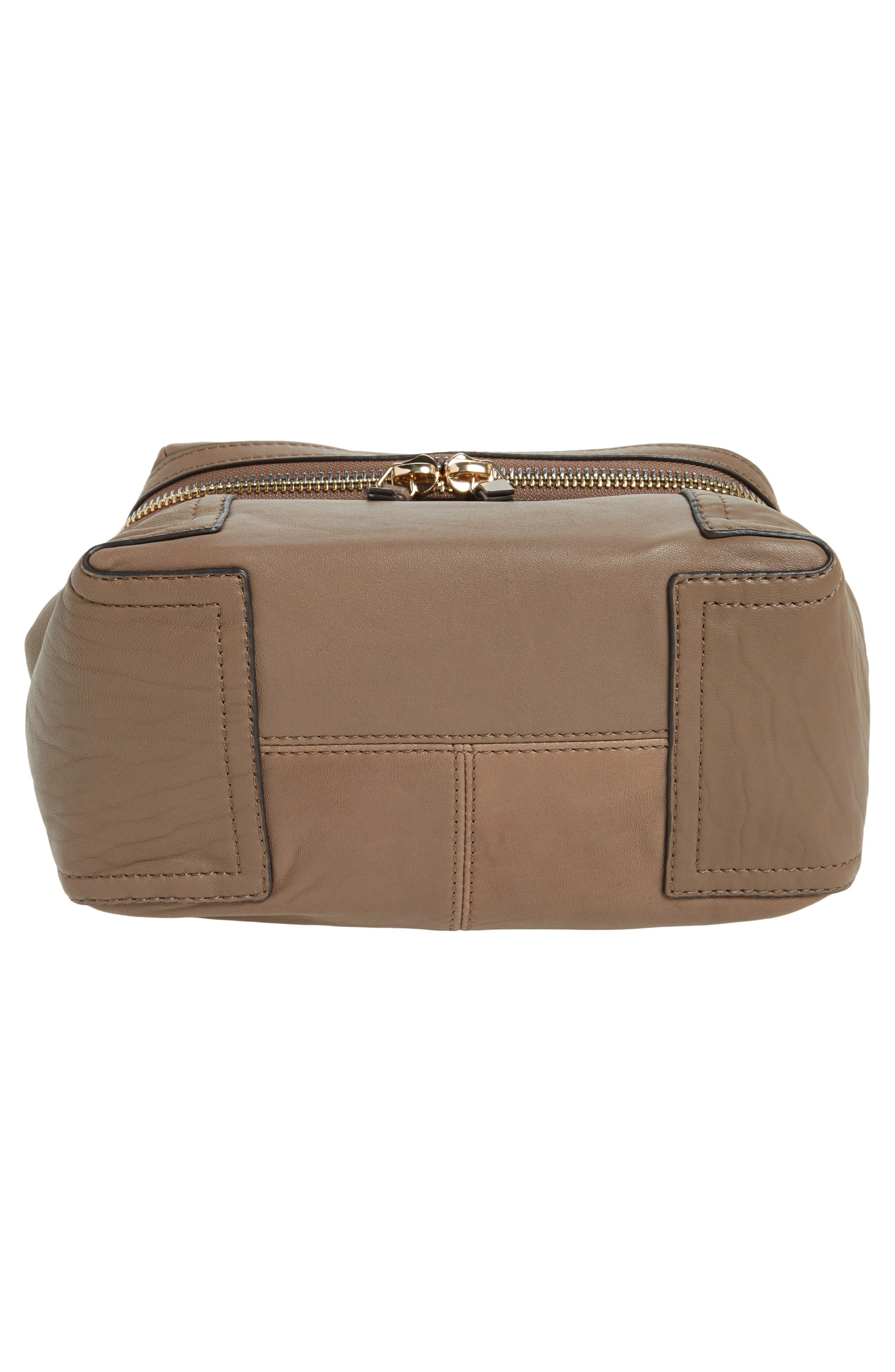 Medium Patch Leather Crossbody Bag,                             Alternate thumbnail 12, color,