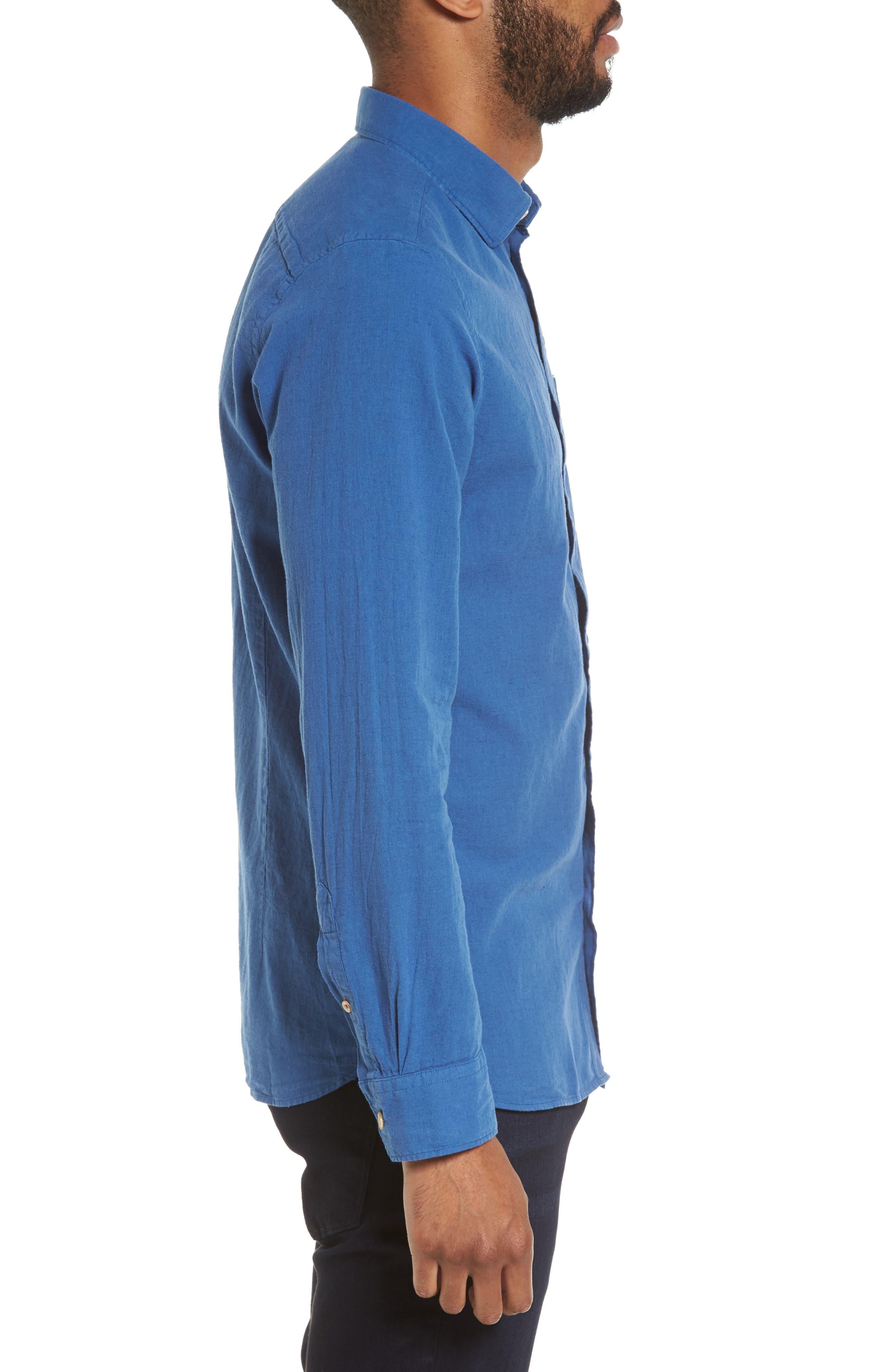 Carwash Modern Slim Fit Sport Shirt,                             Alternate thumbnail 8, color,