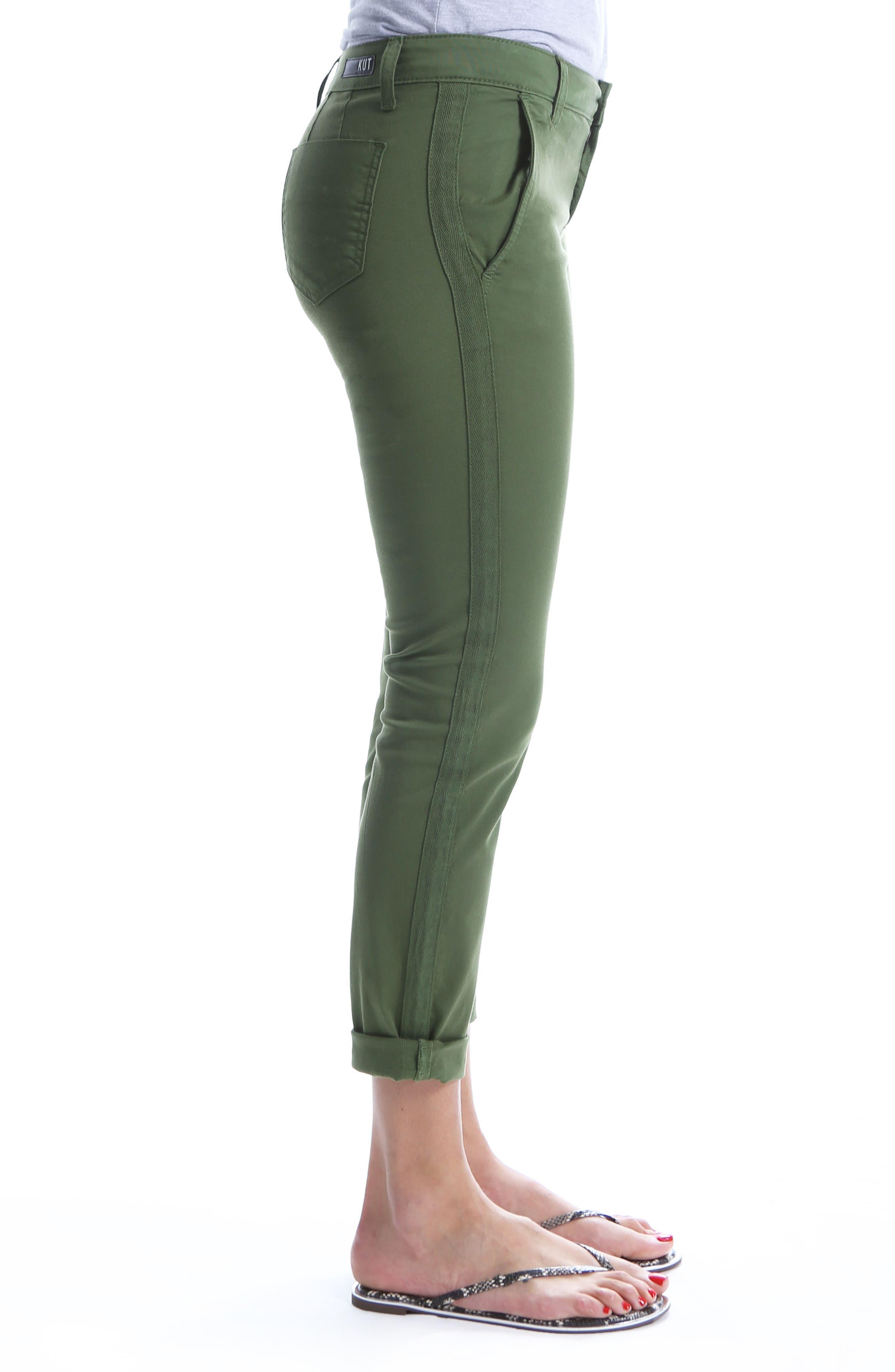 Stretch Cotton Pants,                             Alternate thumbnail 3, color,                             331