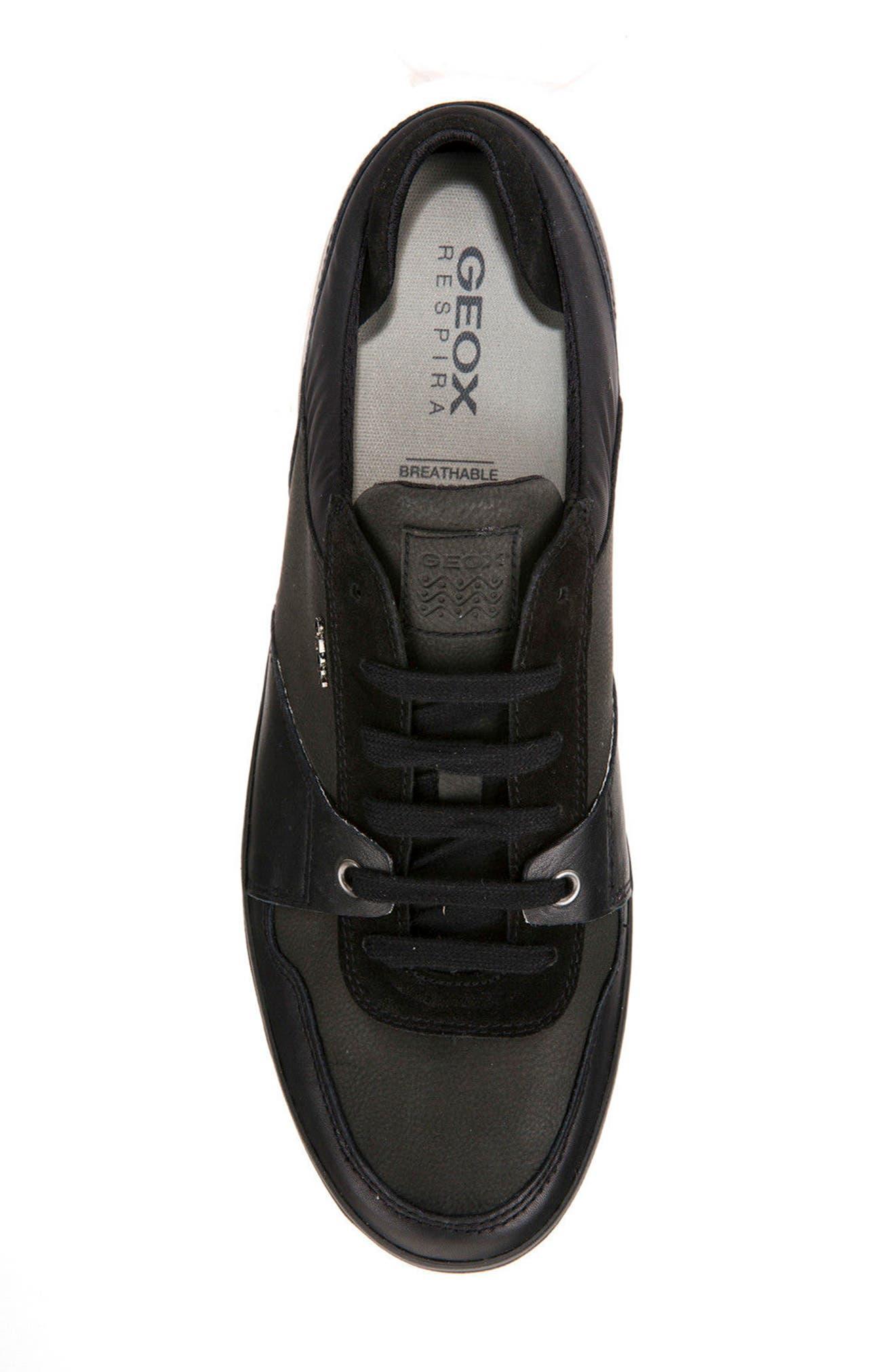Box 28 Low-Profile Sneaker,                             Alternate thumbnail 5, color,                             BLACK