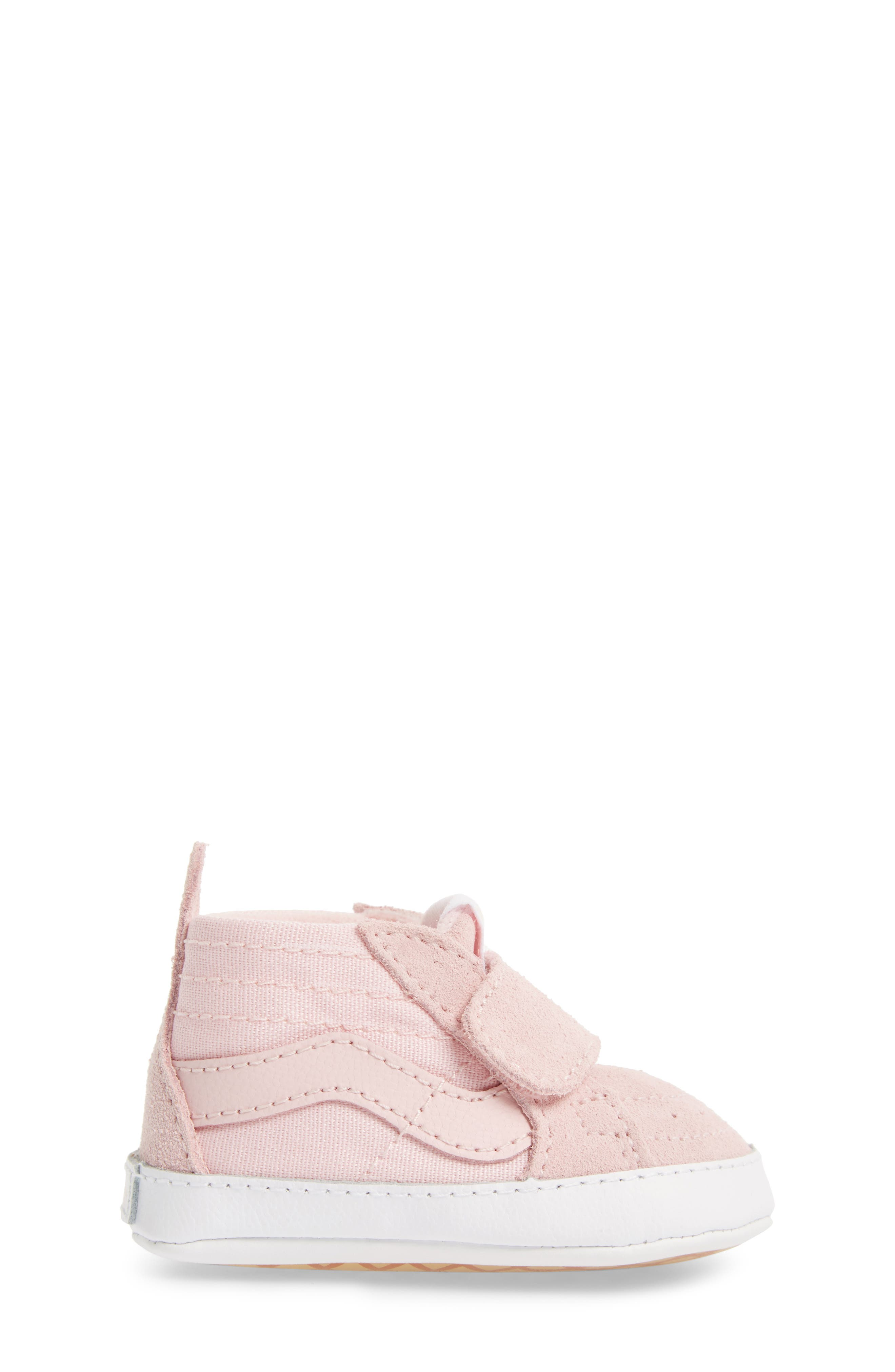 SK8-Hi Crib Sneaker,                             Alternate thumbnail 3, color,