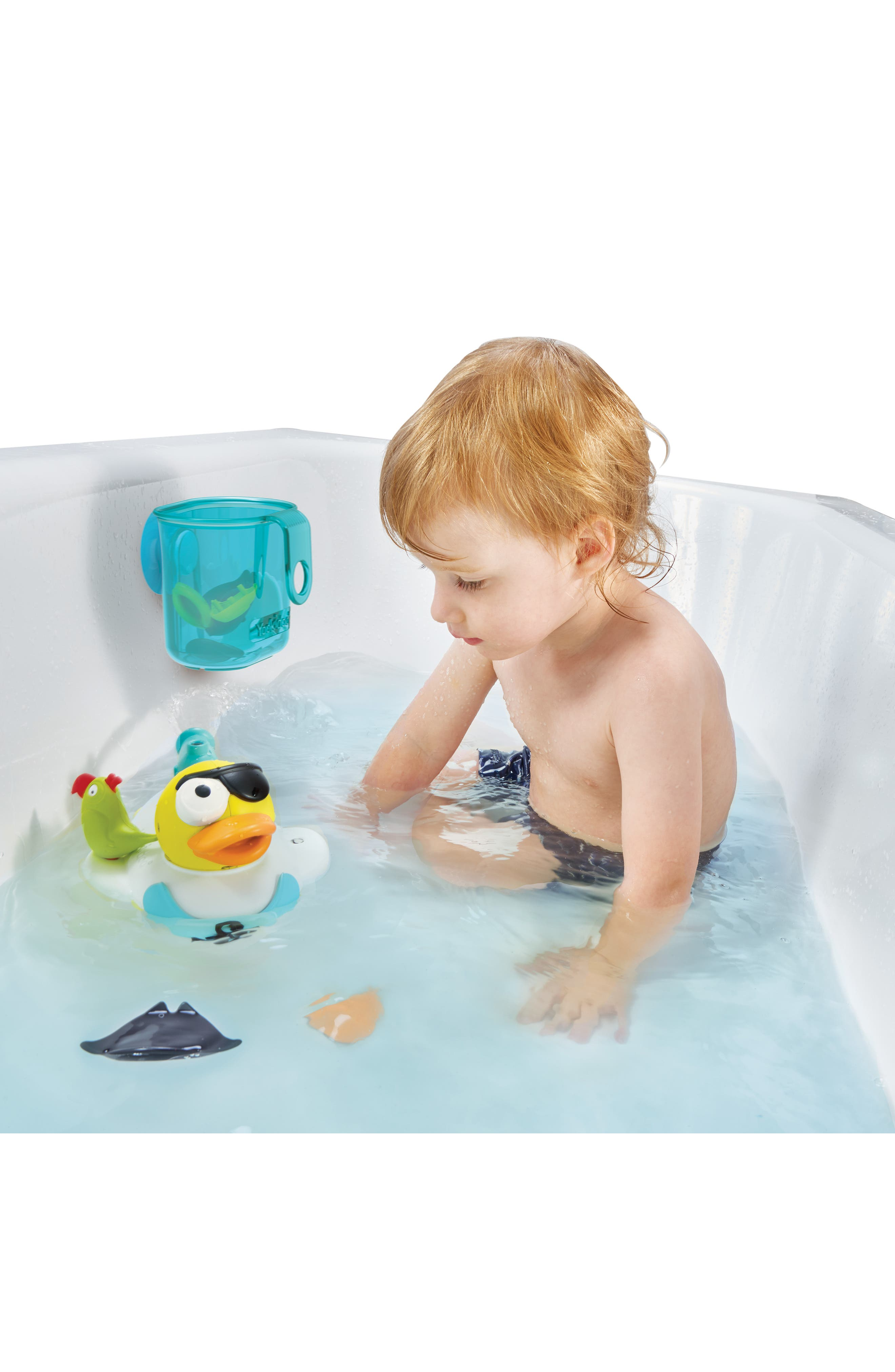 Jet Duck<sup>™</sup> Create a Pirate Bath Toy Kit,                             Alternate thumbnail 12, color,                             YELLOW