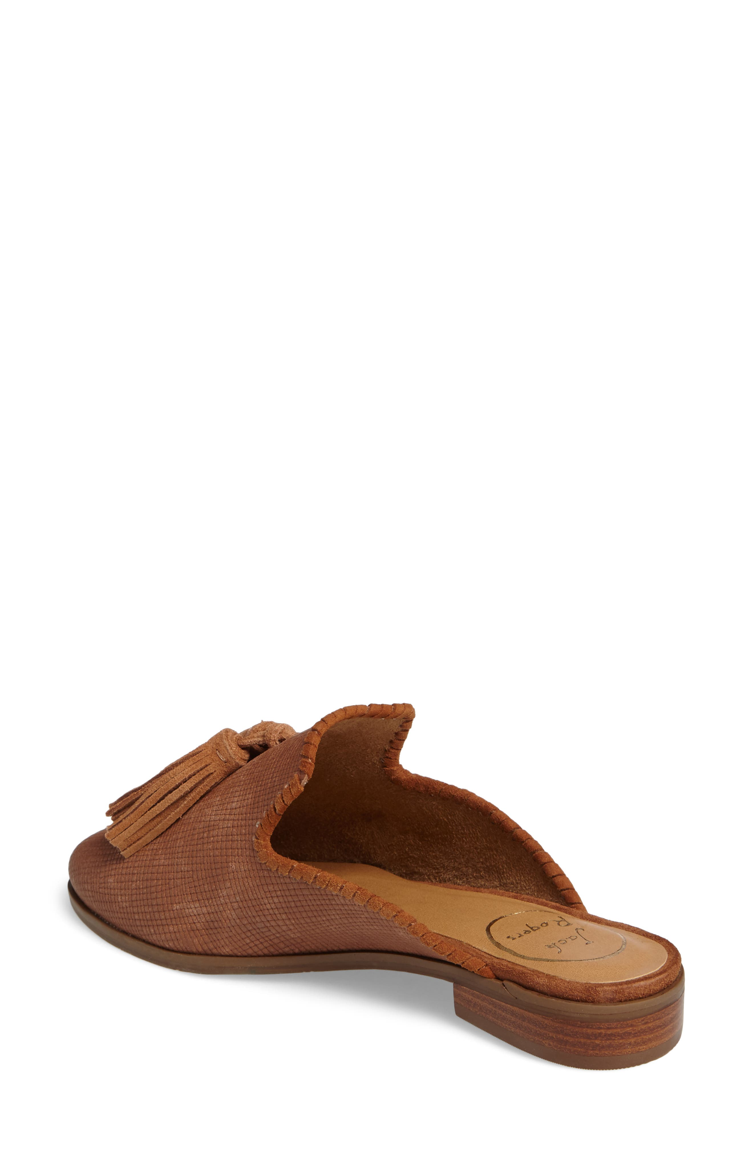 Delaney Tassel Mule,                             Alternate thumbnail 5, color,