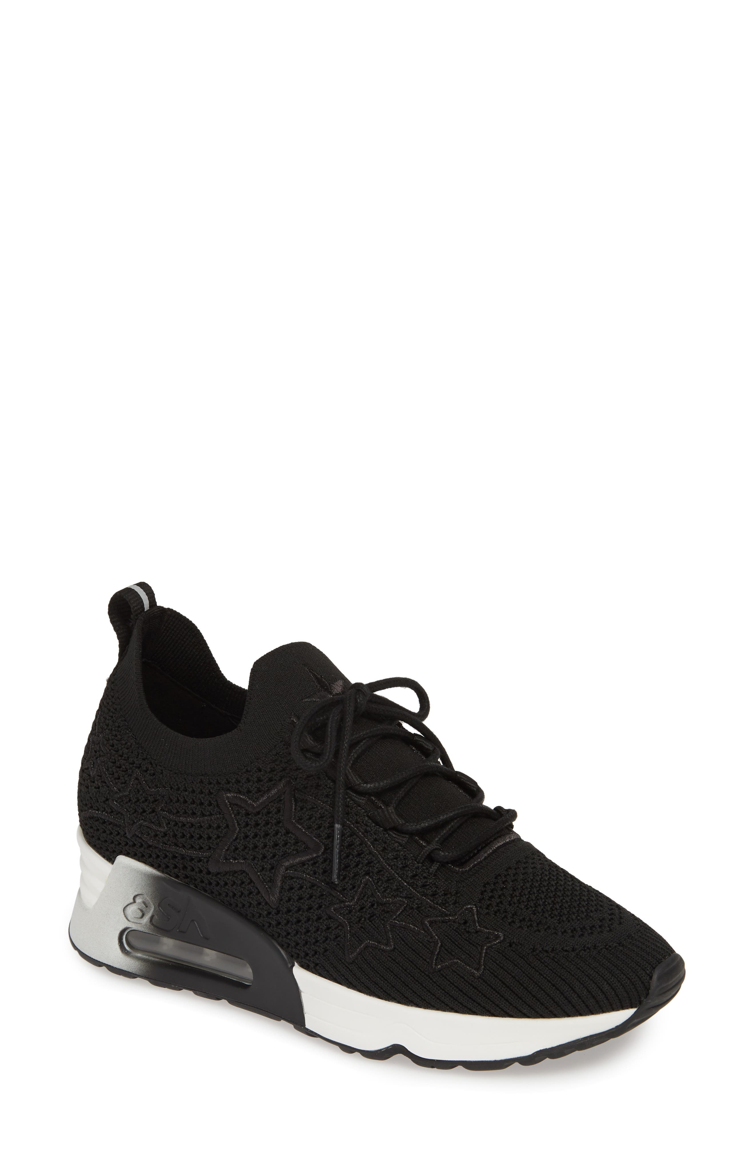 Ash Lunatic Star Sneaker, Black