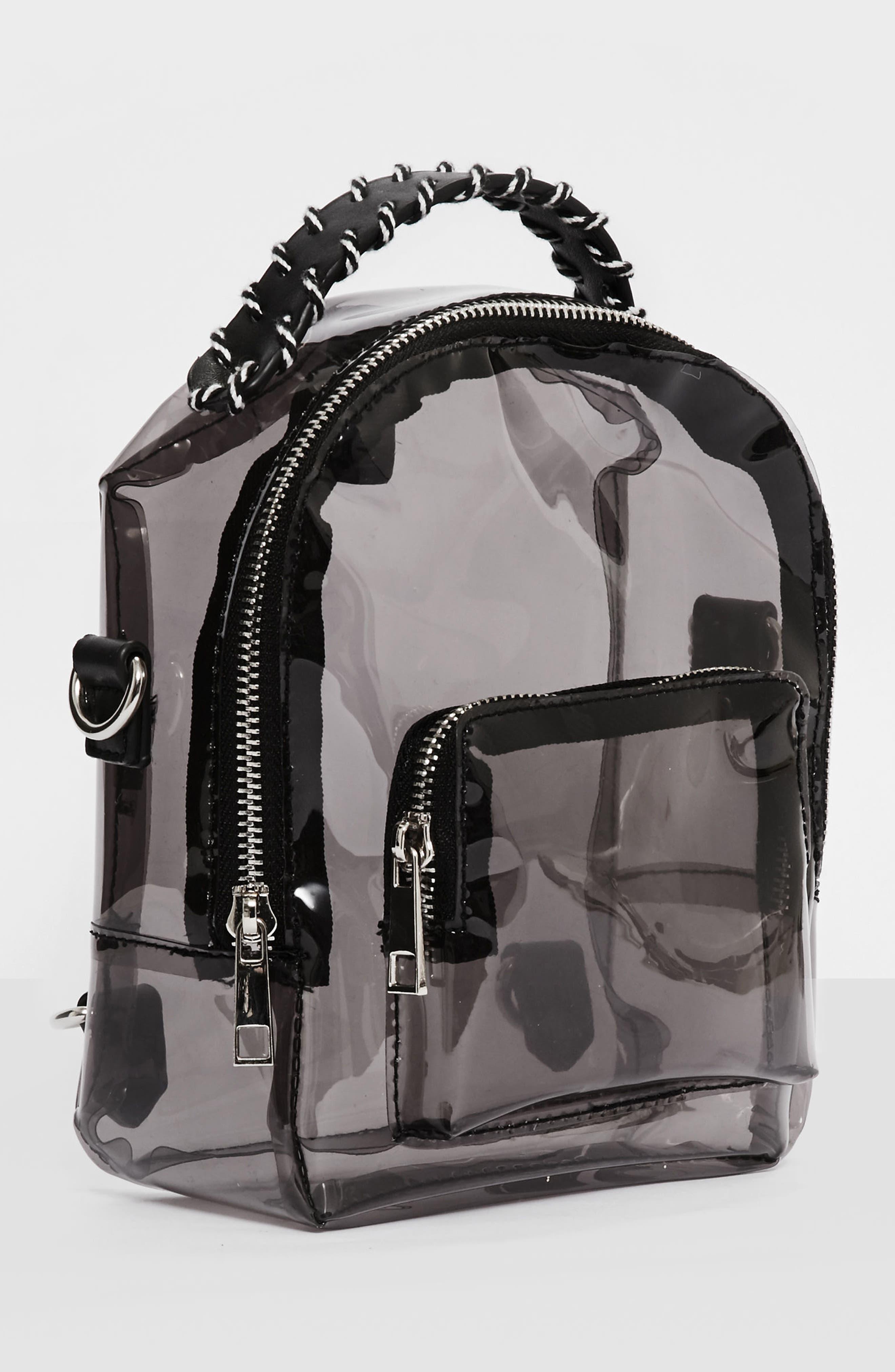 Perspex<sup>®</sup> Mini Backpack,                             Alternate thumbnail 4, color,                             001