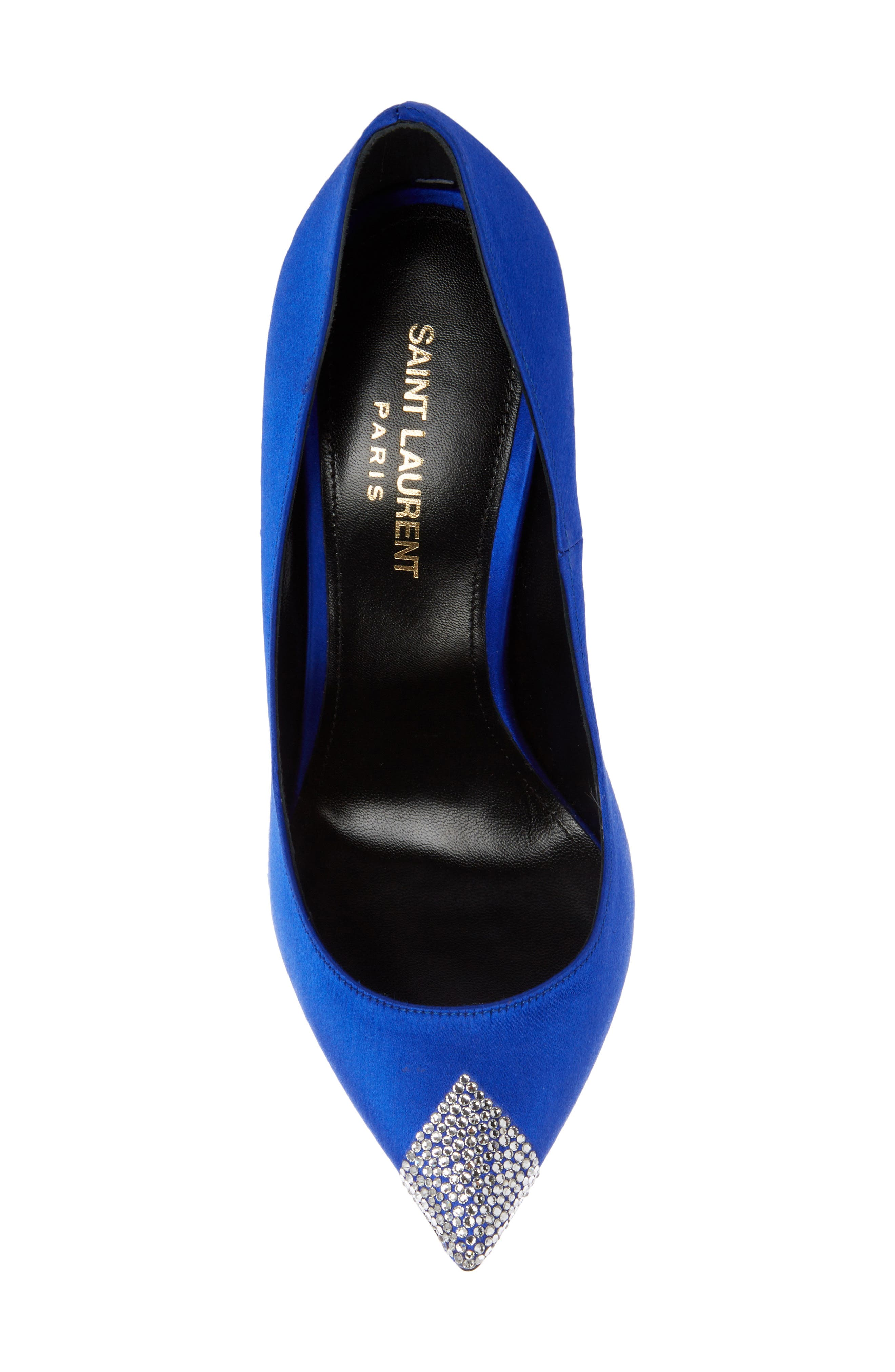 Tower Crystal Pointy Toe Pump,                             Alternate thumbnail 4, color,                             400