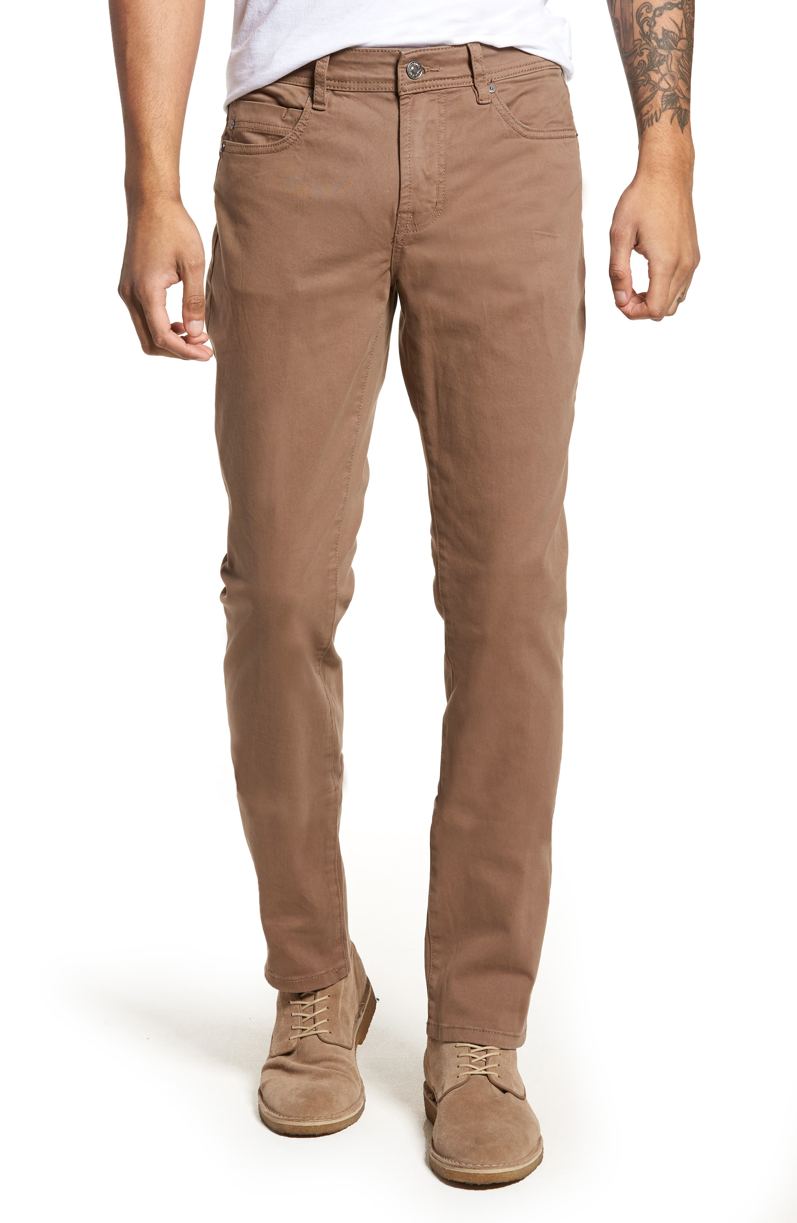 Jeans Co. Kingston Slim Straight Leg Jeans,                             Main thumbnail 1, color,                             CUB