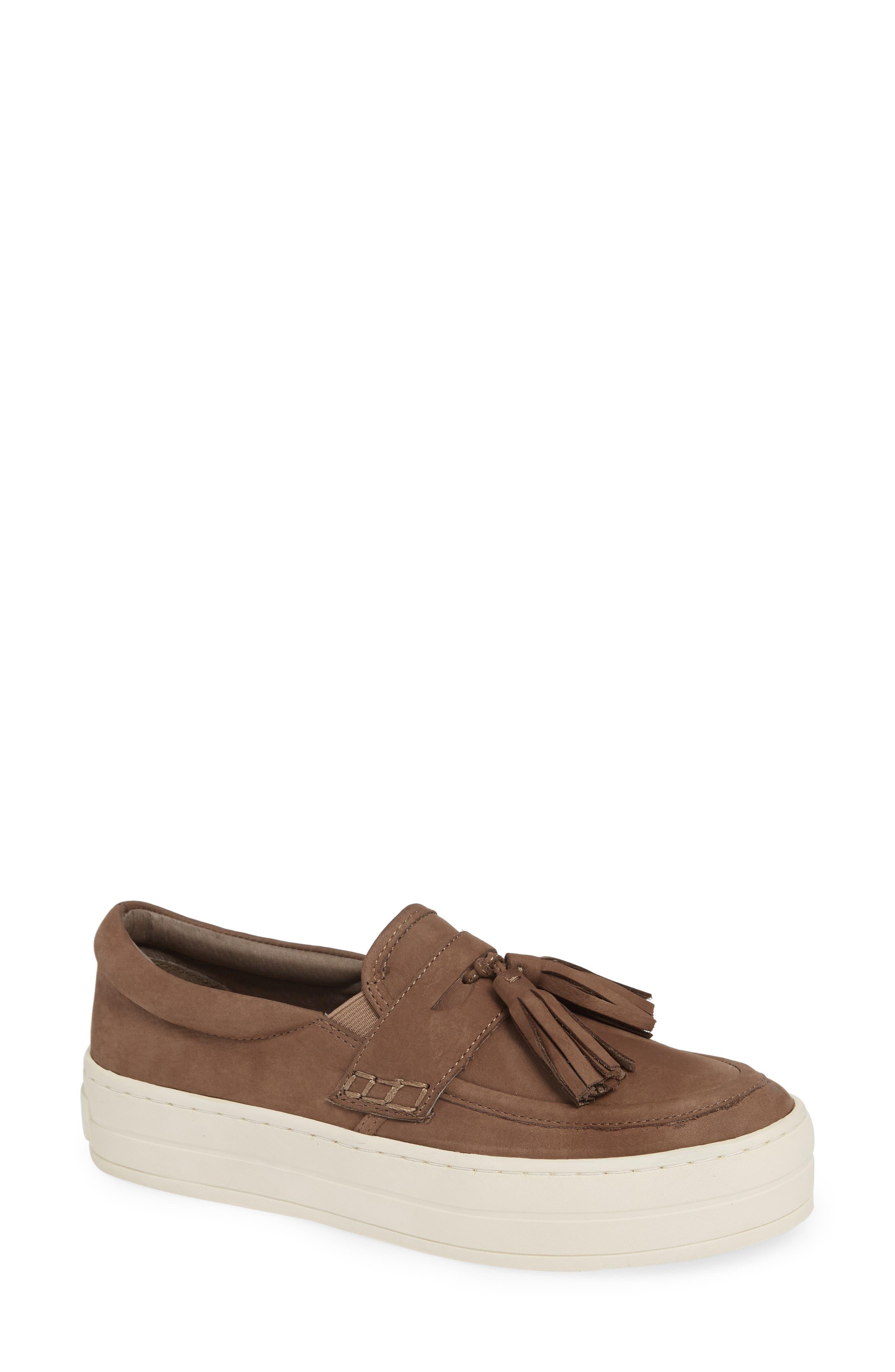 Jslides Hallie Slip-On Sneaker, Beige
