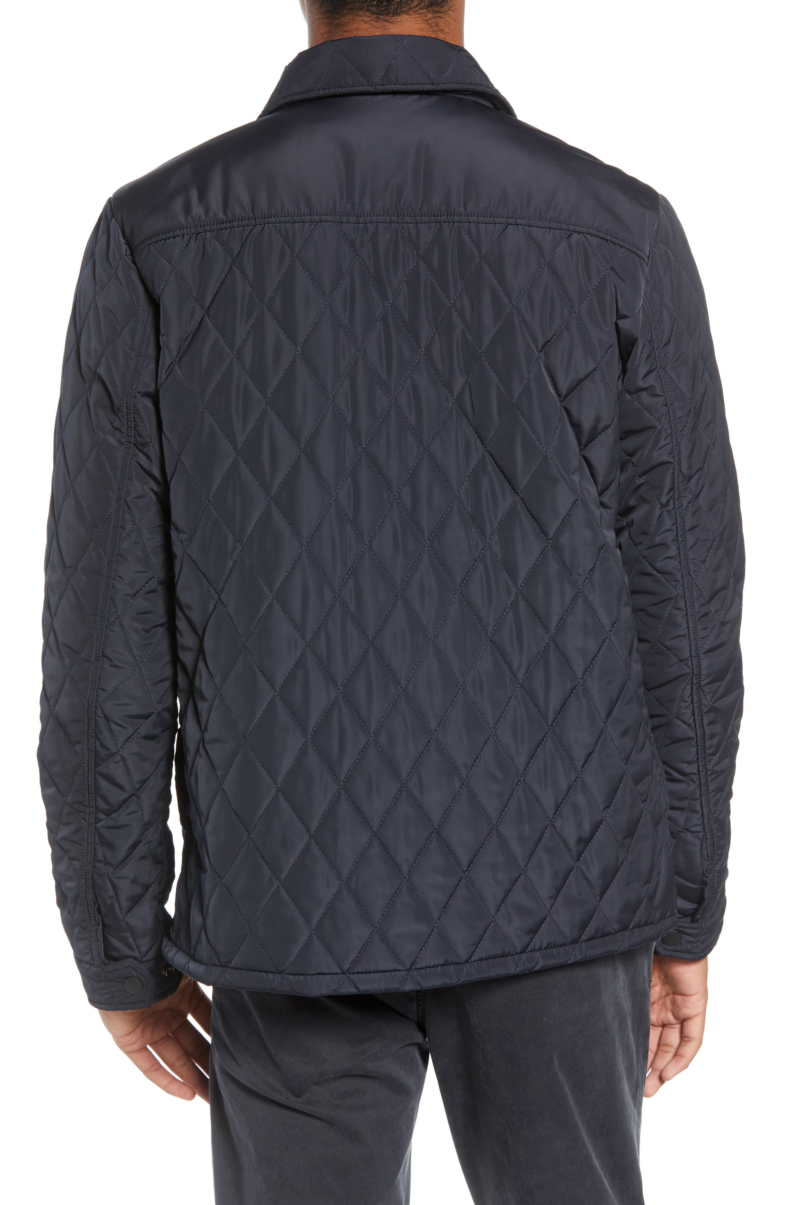Quilted Shirt Jacket,                             Alternate thumbnail 2, color,                             NIGHT