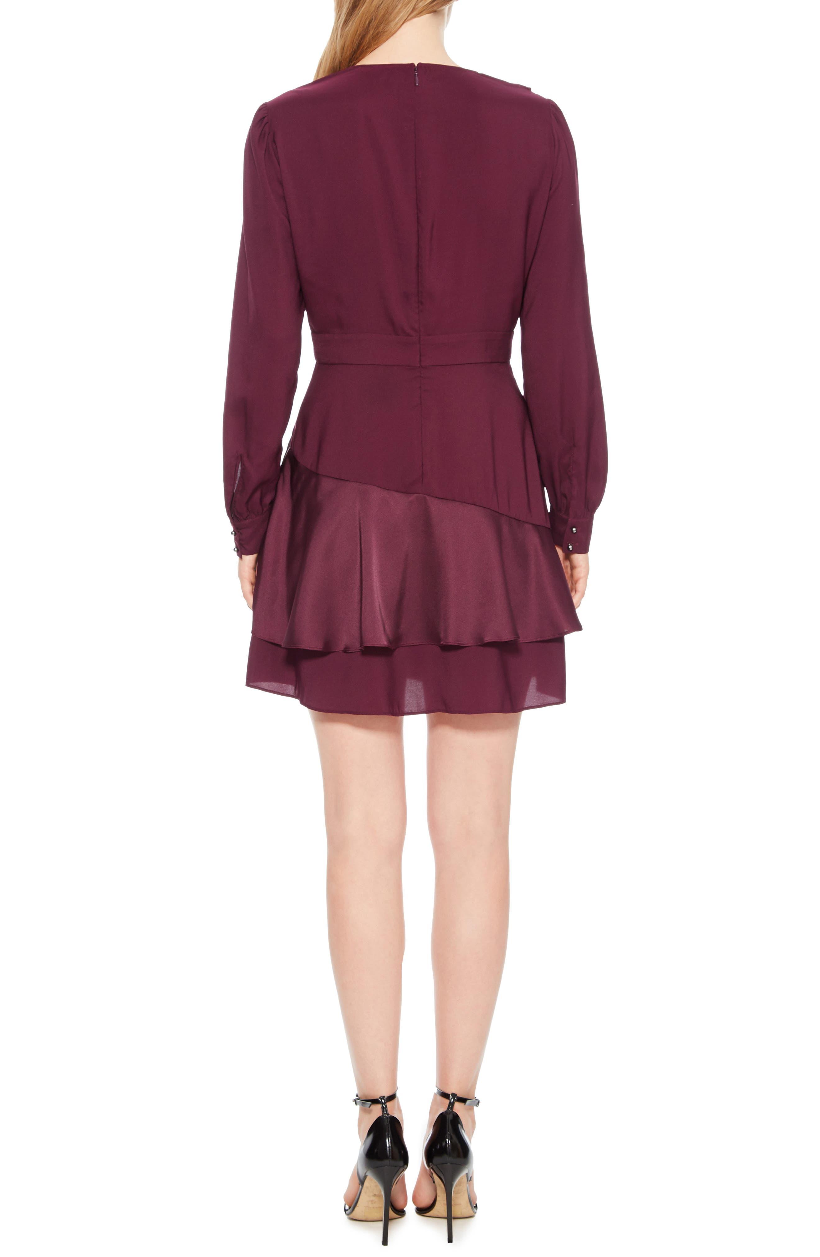 Nancy Ruffle Dress,                             Alternate thumbnail 2, color,                             930
