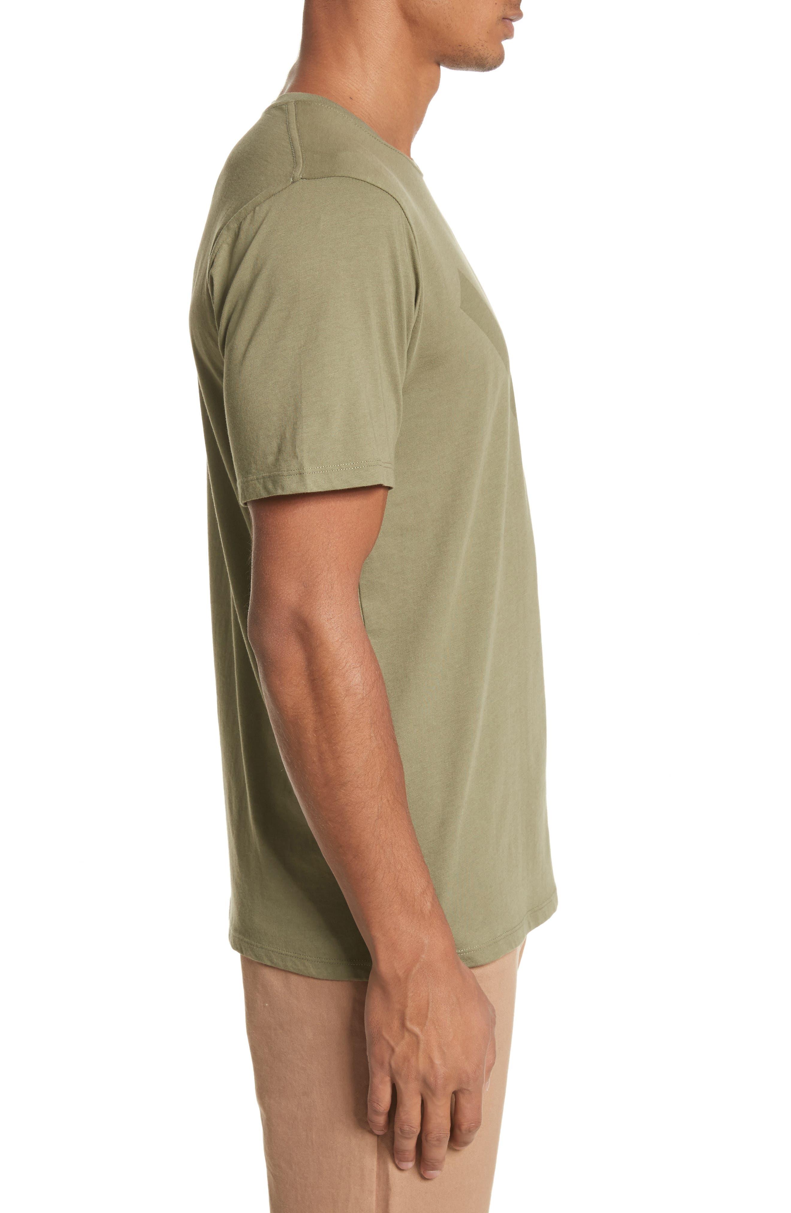 Tonal Slash Graphic T-Shirt,                             Alternate thumbnail 3, color,                             305