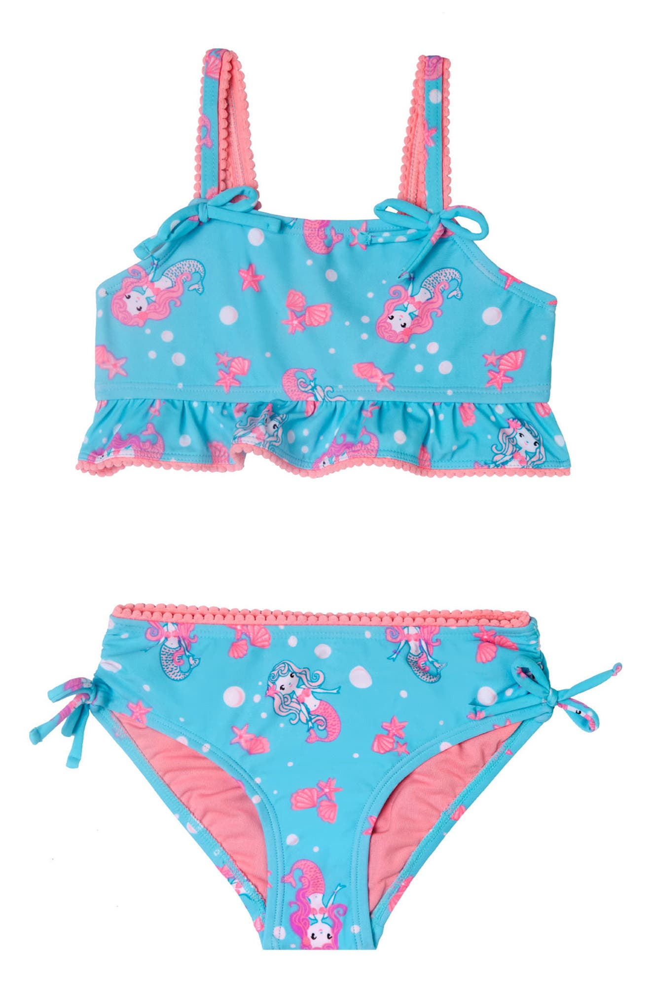 Mermaid Crush Two-Piece Swimsuit,                             Main thumbnail 1, color,                             405