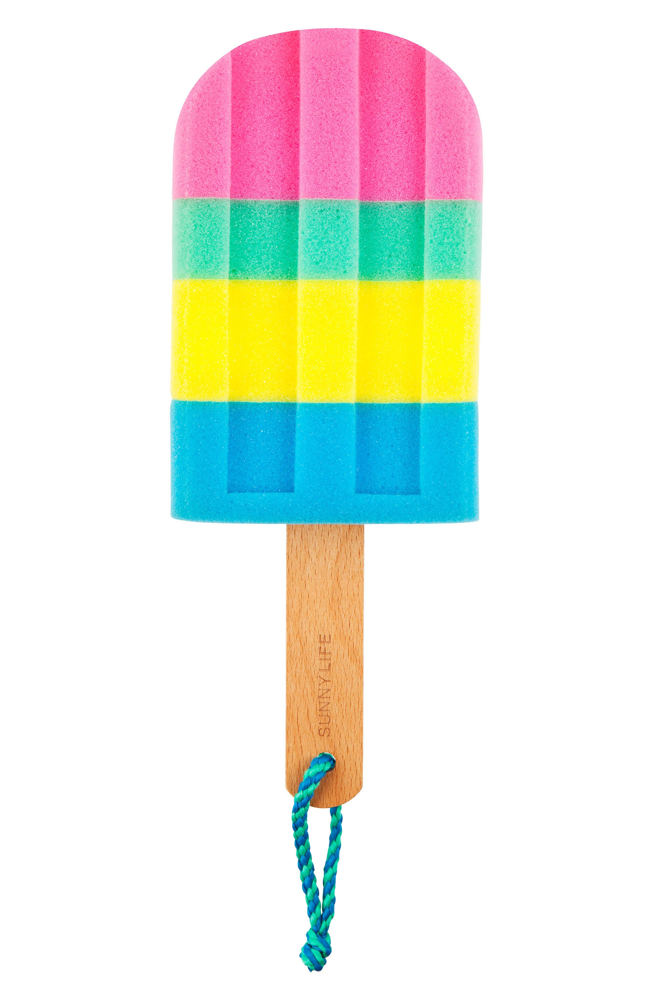 Ice Lolly Bath Sponge,                         Main,                         color,