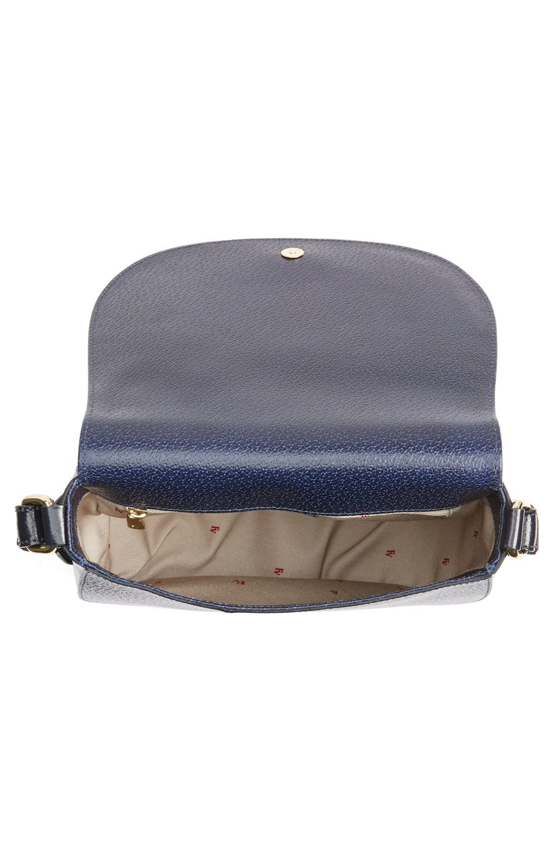 'Small Ellen' Leather Shoulder Bag,                             Alternate thumbnail 4, color,                             400