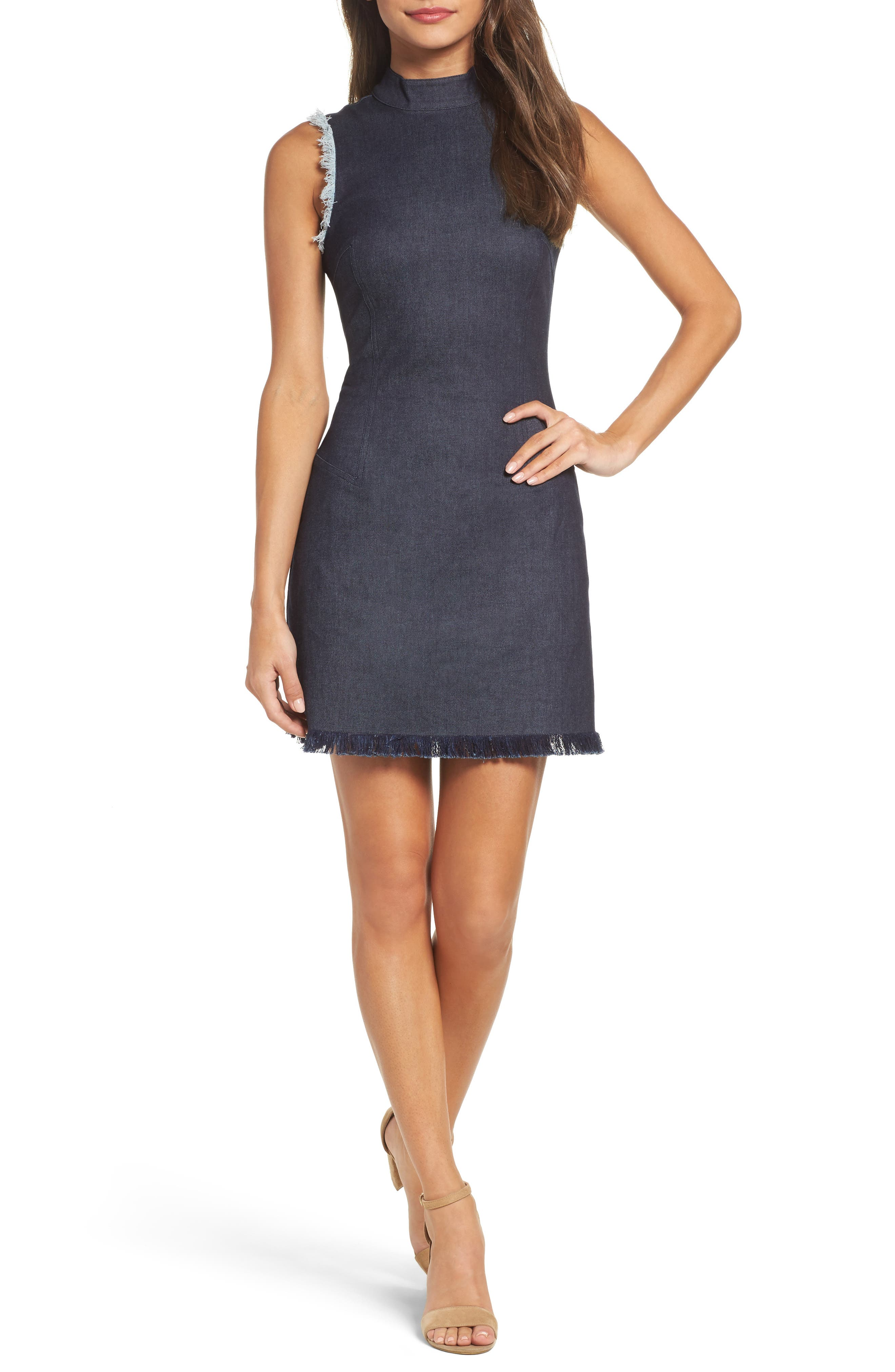 Falling For You Minidress,                         Main,                         color, 429