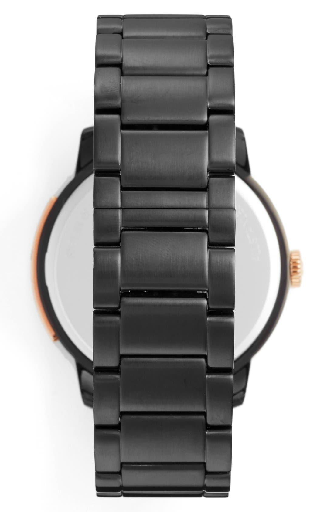 'Bleeker' Round Bracelet Watch, 46mm,                             Alternate thumbnail 9, color,
