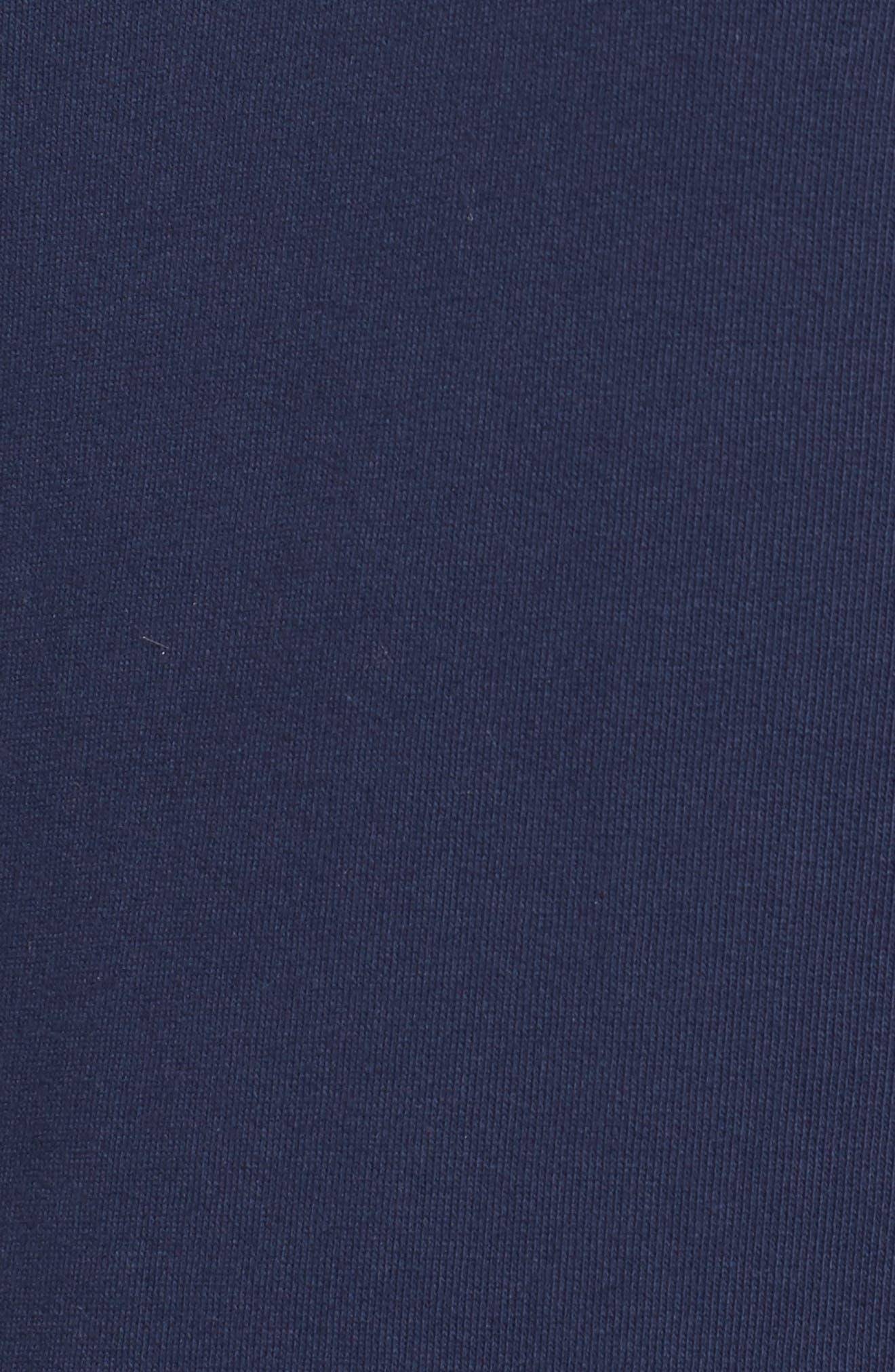 Embroidered Sleeve Sweatshirt,                             Alternate thumbnail 5, color,                             410