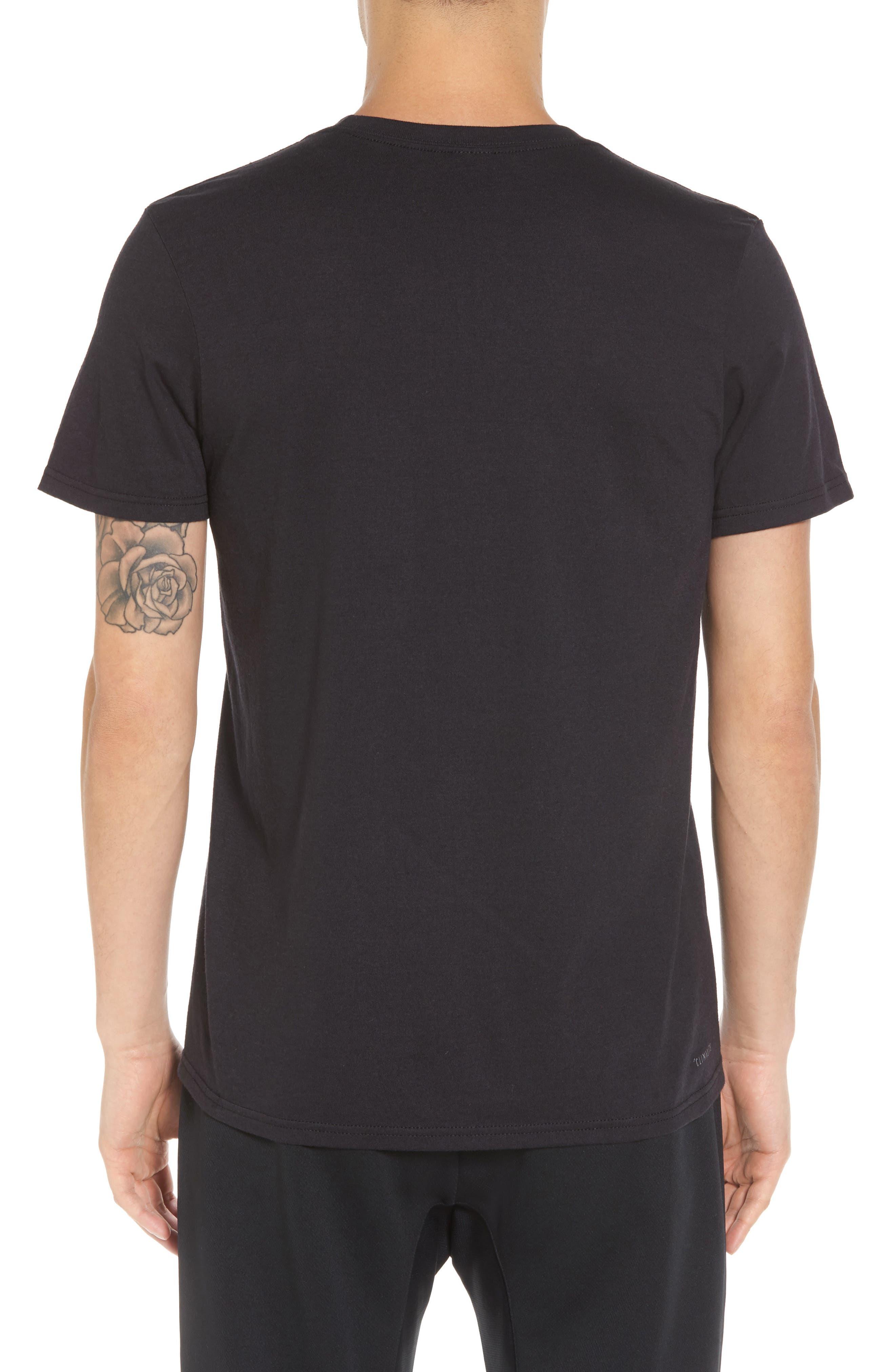 TSL Emblem T-Shirt,                             Alternate thumbnail 2, color,                             BLACK / WHITE