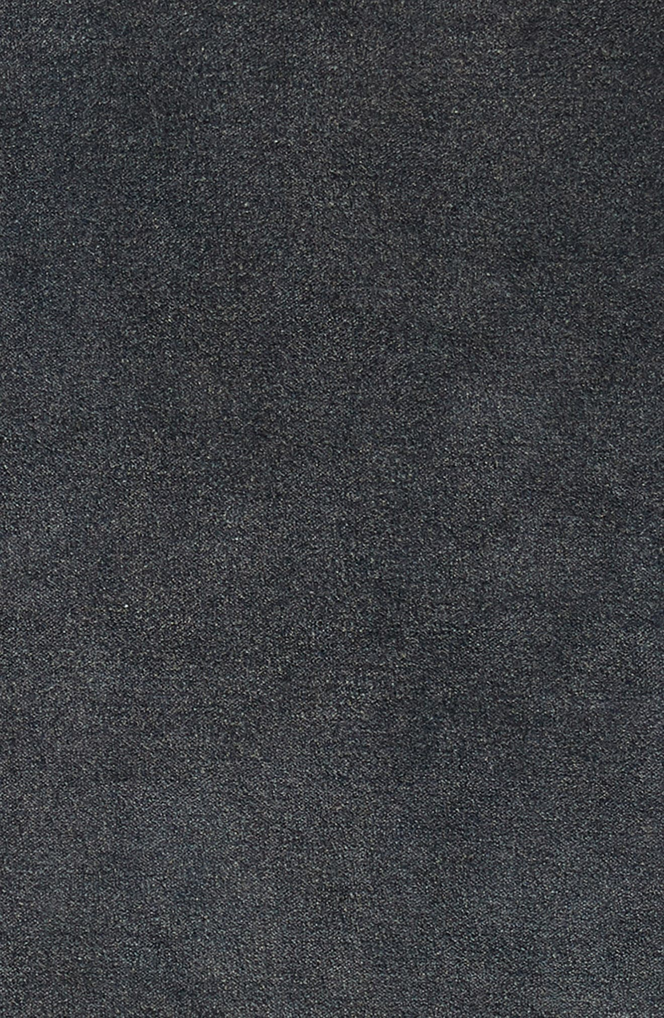 Stonewash Velvet Accent Pillow,                             Alternate thumbnail 3, color,                             NAVY BLUE