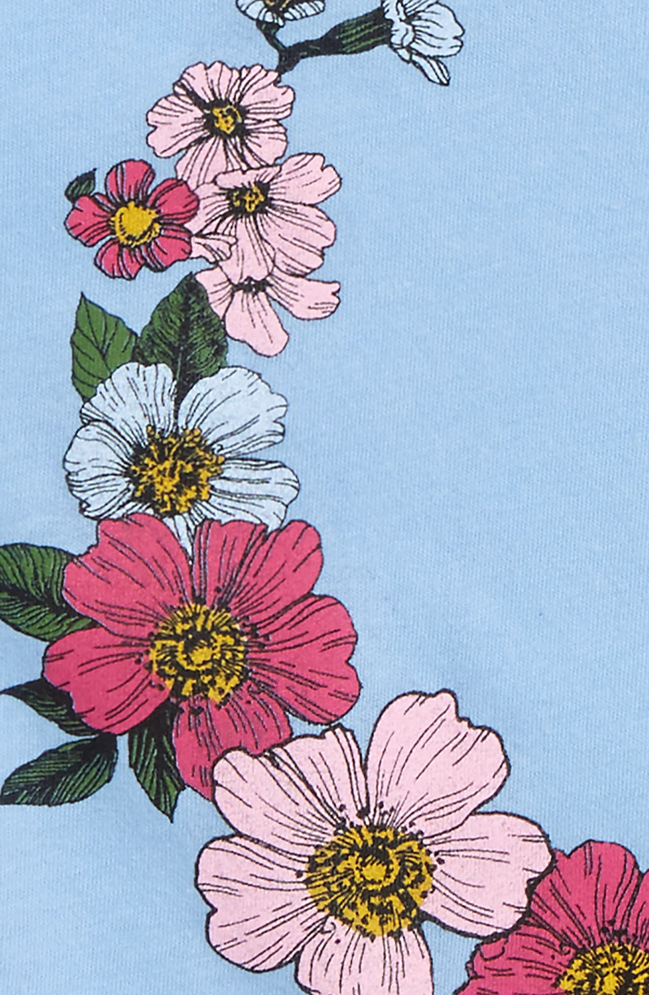Moon Bloom Ruffle Tank,                             Alternate thumbnail 4, color,                             493