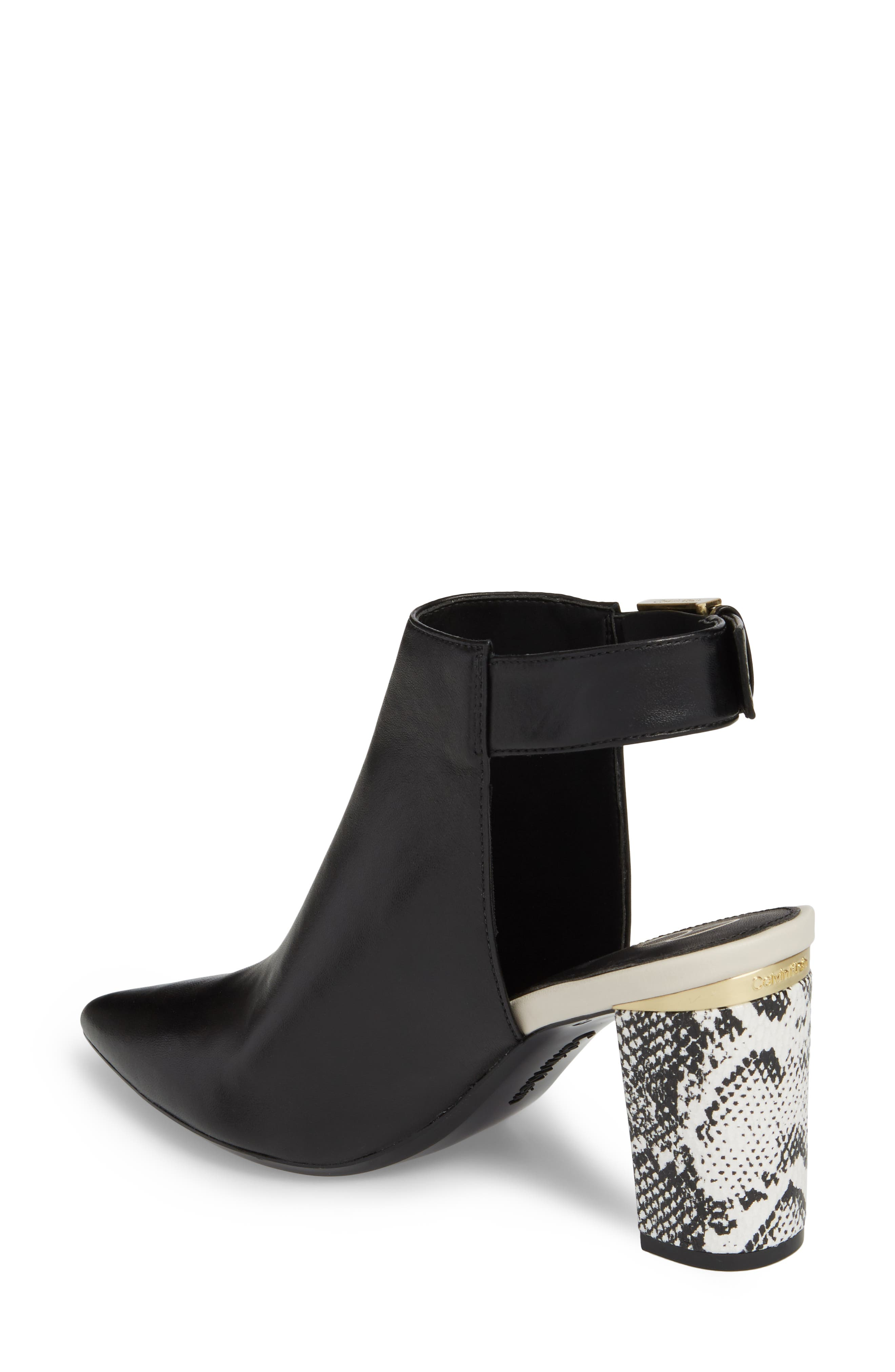 Evanah Pointy Toe Bootie,                             Alternate thumbnail 2, color,                             001