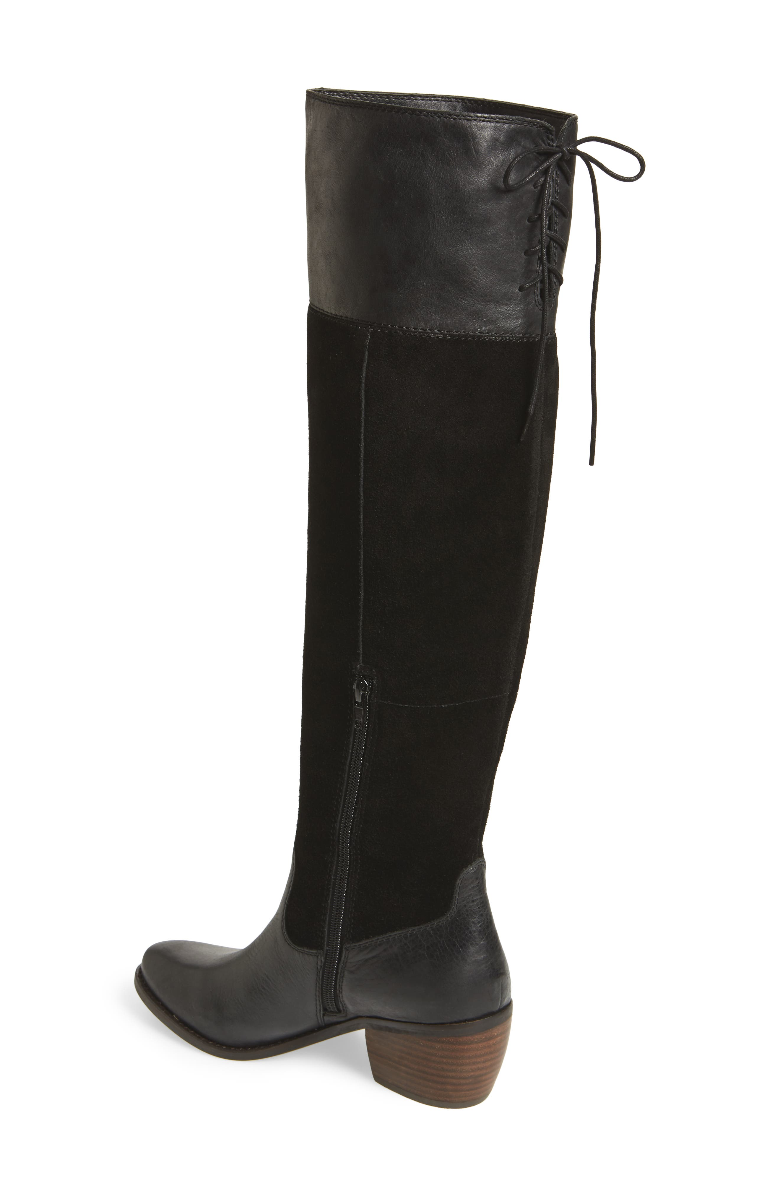 Komah Over the Knee Boot,                             Alternate thumbnail 2, color,                             001