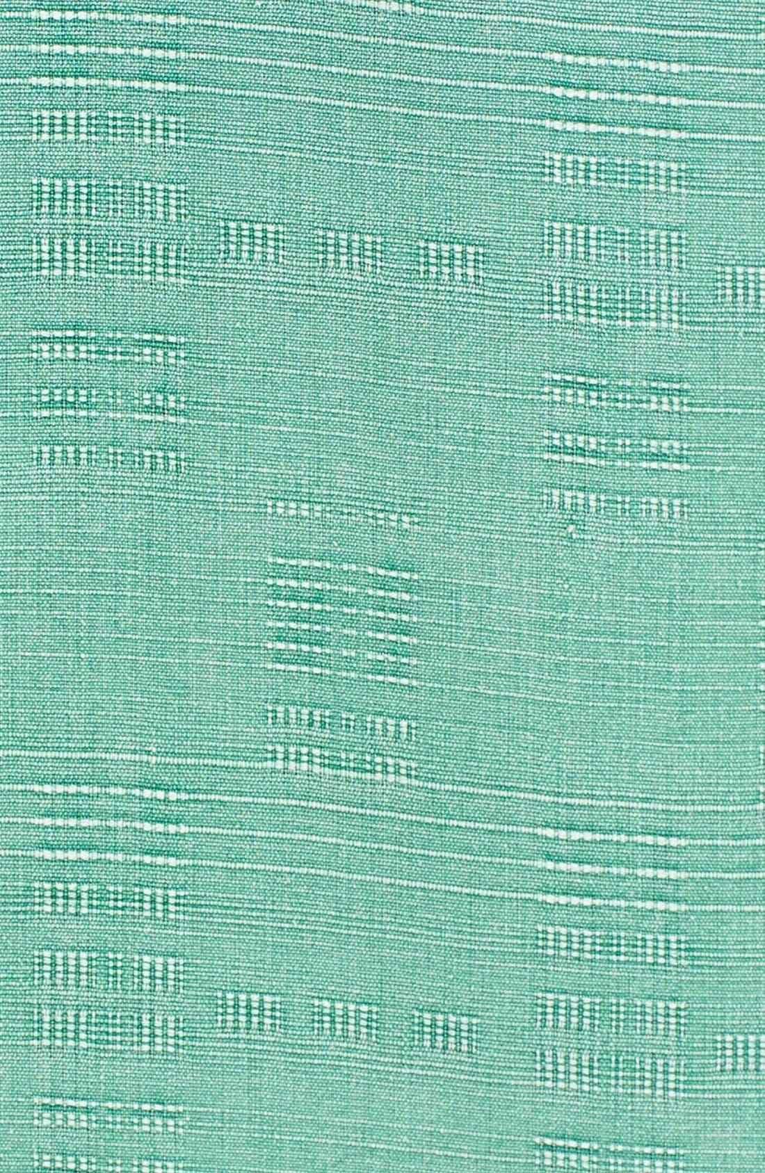 Original Fit Jacquard Silk Camp Shirt,                             Alternate thumbnail 14, color,